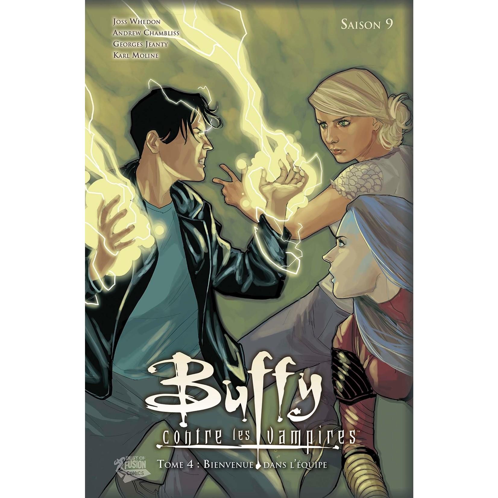 Hard Cover - Buffy contre les vampires - Saison 9 - Tome 4 : Bienvenue dans l'équipe