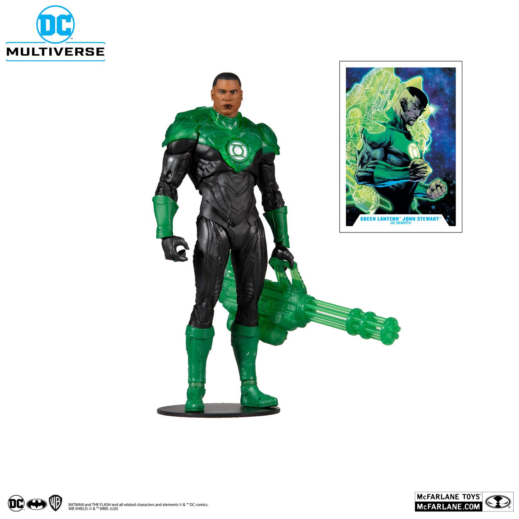 McFarlane Toys DC MULTIVERSE MODERN COMIC GREEN LANTERN (J.S.)