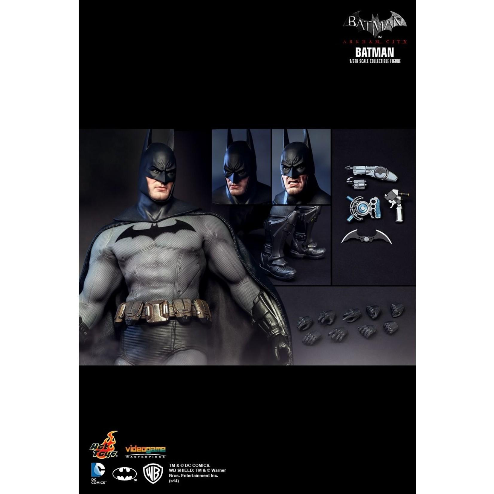 Hot Toys Batman Arkham City - Batman VGM18