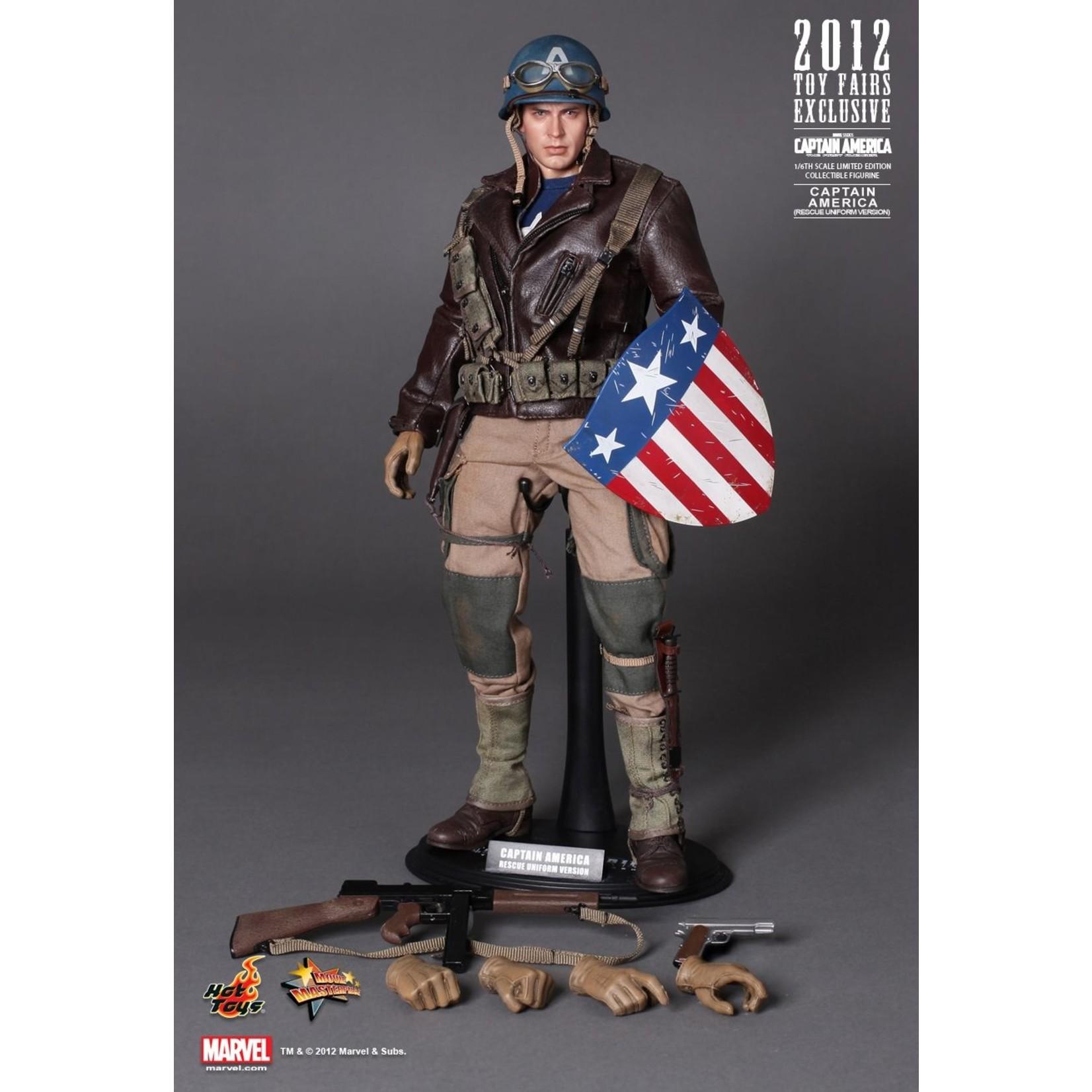 Hot Toys Captain America: The First Avenger  Captain America (Rescue Uniform) MMS180