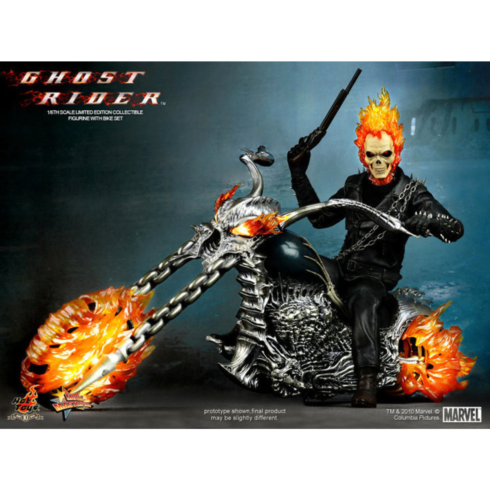 Hot Toys Ghost Rider - Ghost Rider with Hellcycle MMS133