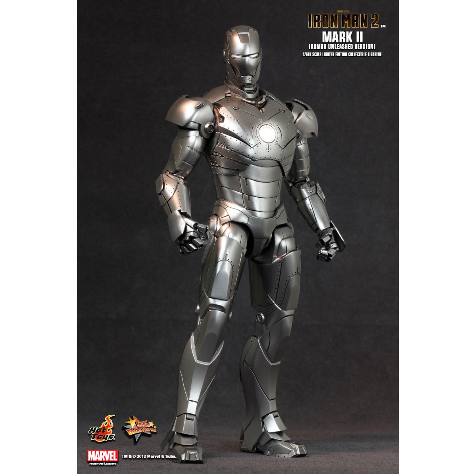 Hot Toys Iron man Mark II Armor Unleashed Version MMS150
