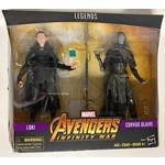 Hasbro Marvel Legends 80th Anniversary Loki vs. Corvus Glaive