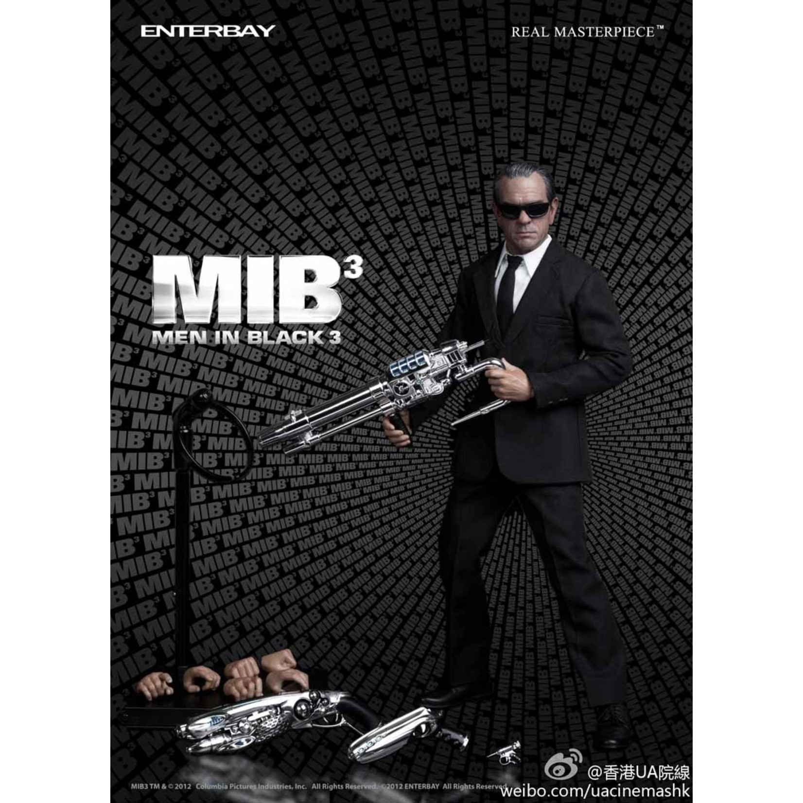 Enterbay Men in Black 3 - Agent K