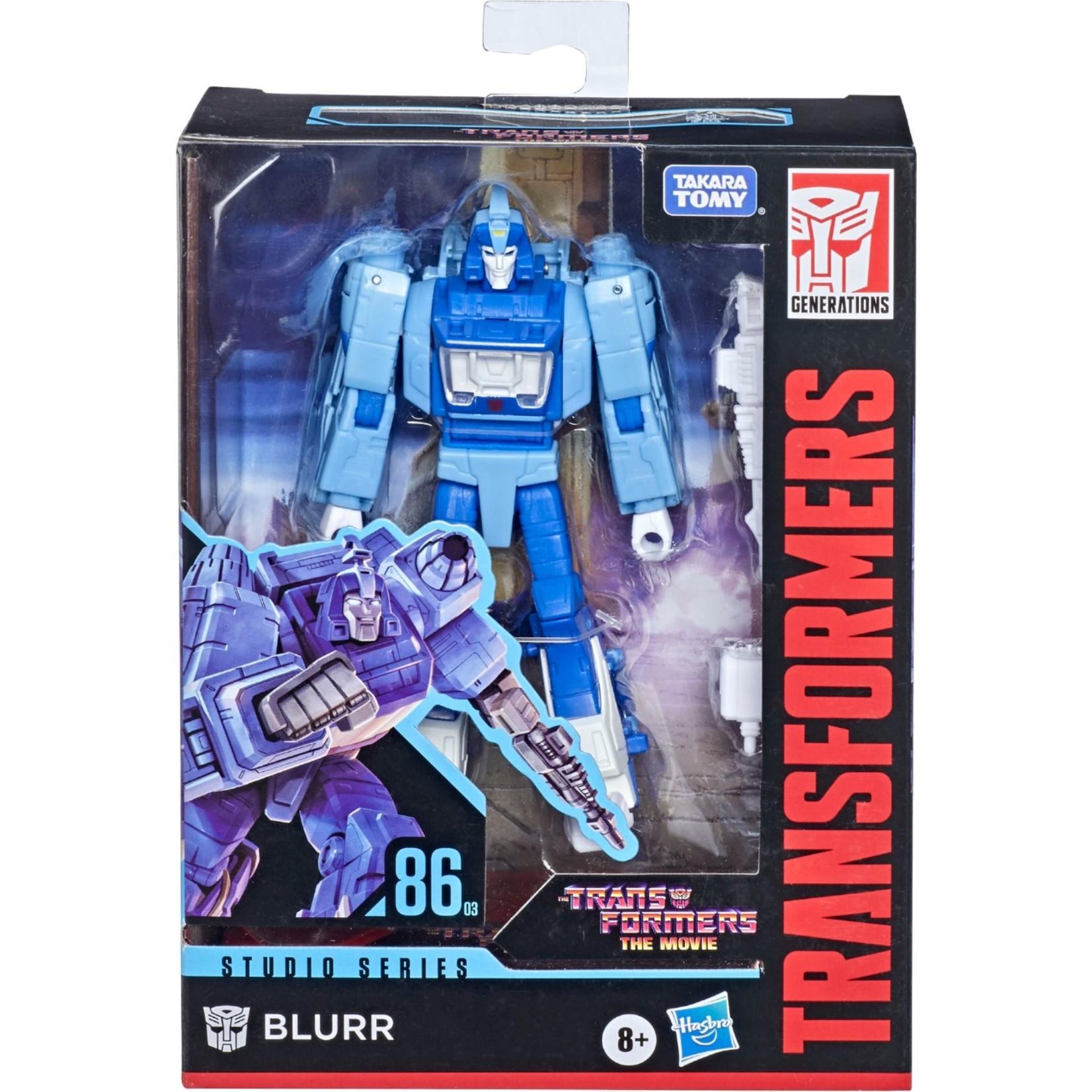Hasbro Transformers Studio Series 86-03 Deluxe Blurr
