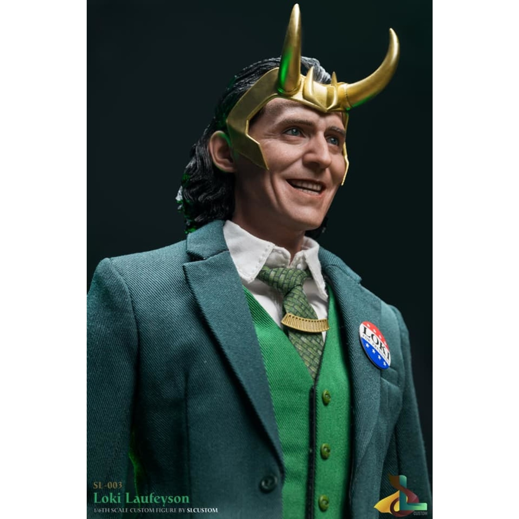 "SL Custom [Precommande] SL Custom 1/6 Trickster God ""Loki"""
