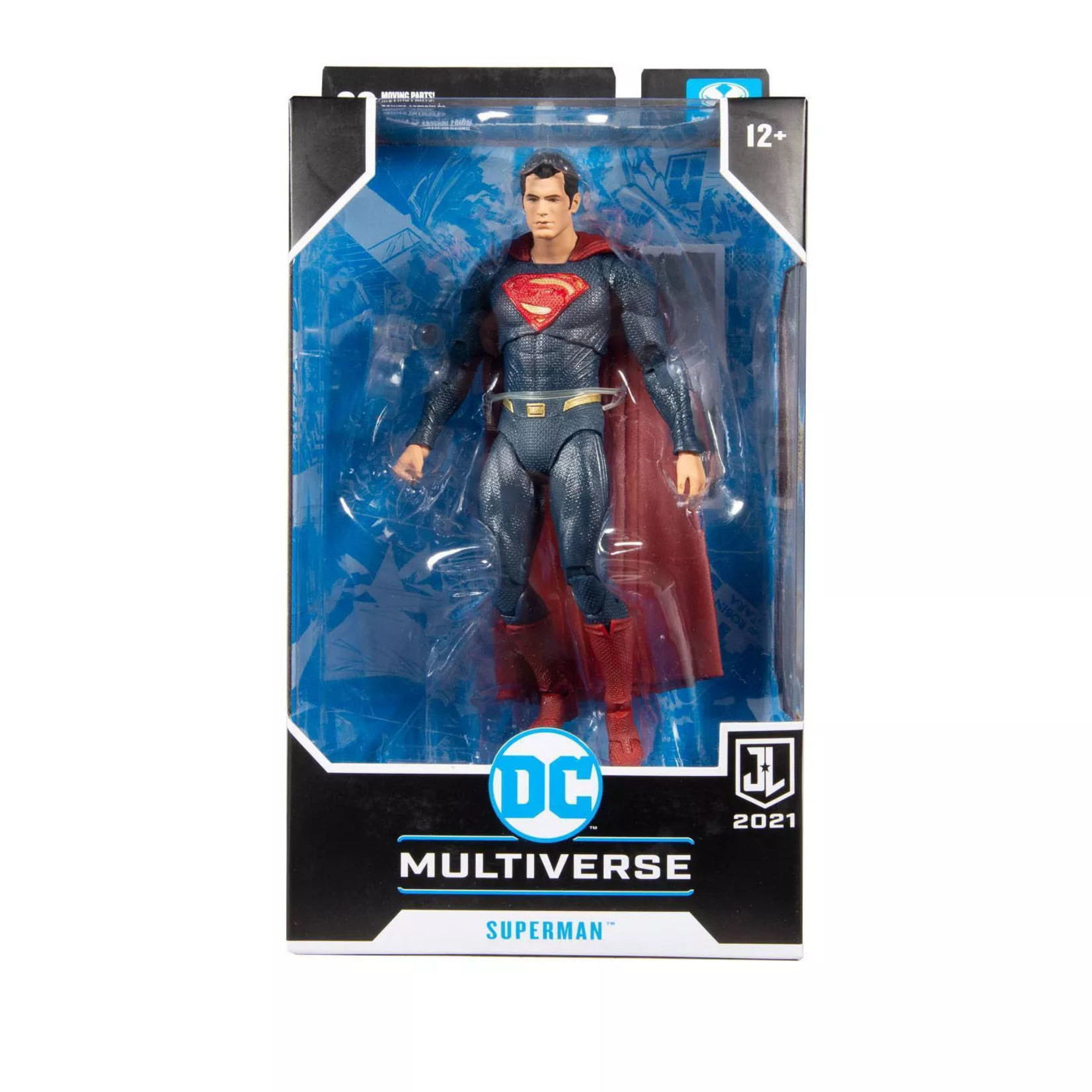 McFarlane Toys DC JUSTICE LEAGUE MOVIE - SUPERMAN BLUE/RED