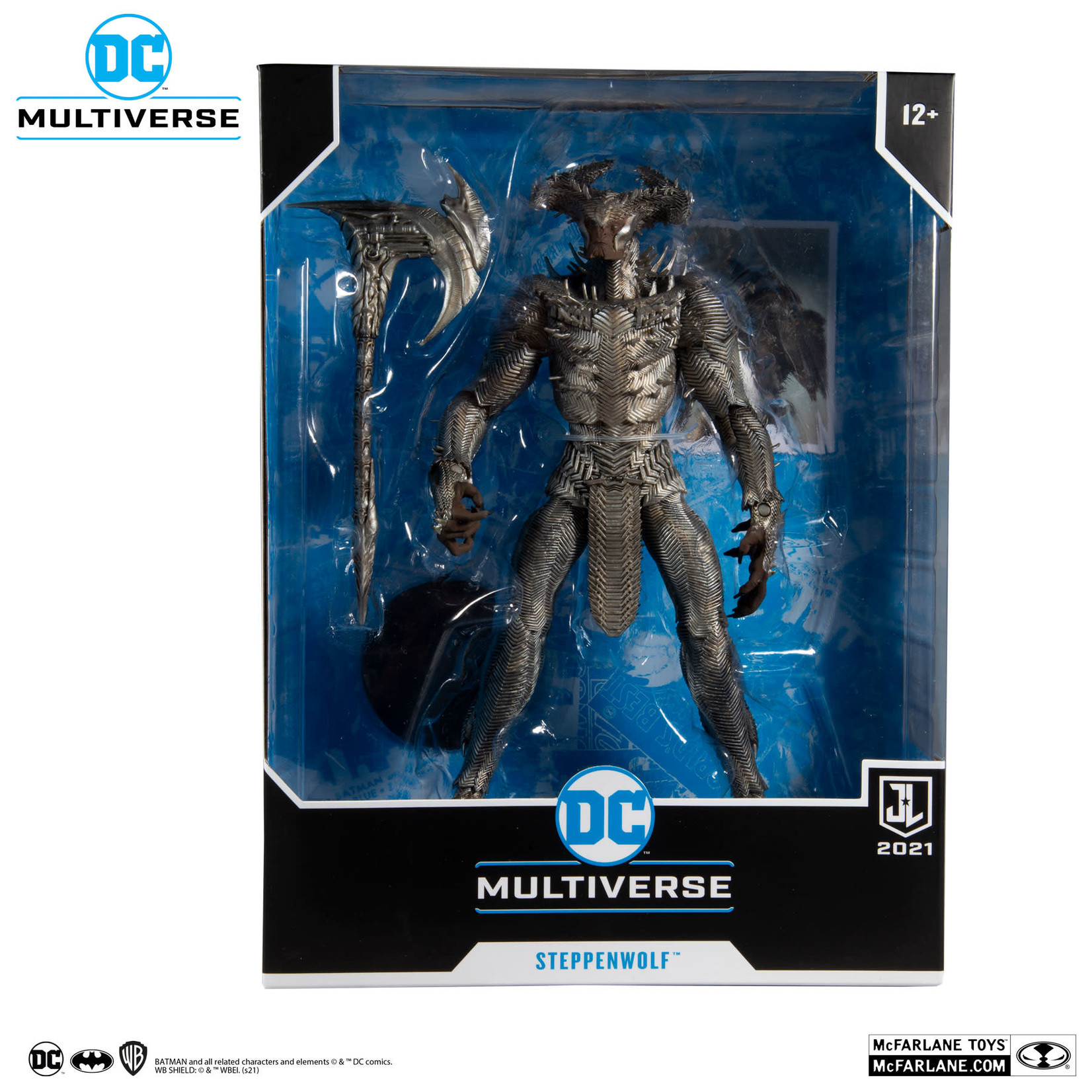 McFarlane Toys DC JUSTICE LEAGUE  STEPPENWOLF