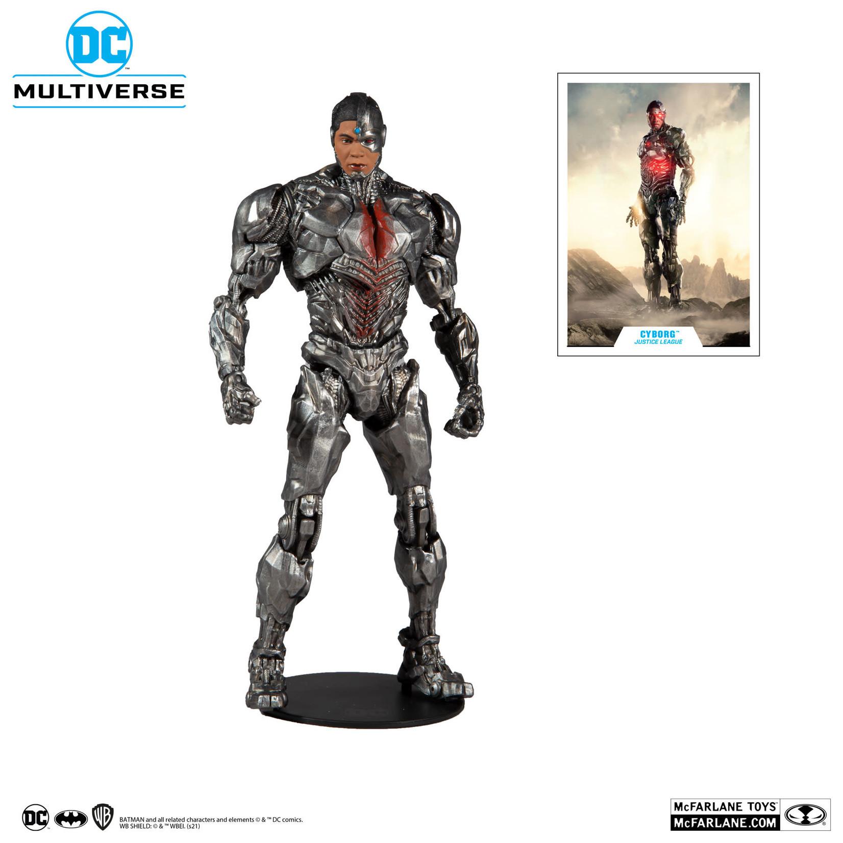 McFarlane Toys DC JUSTICE LEAGUE - CYBORG