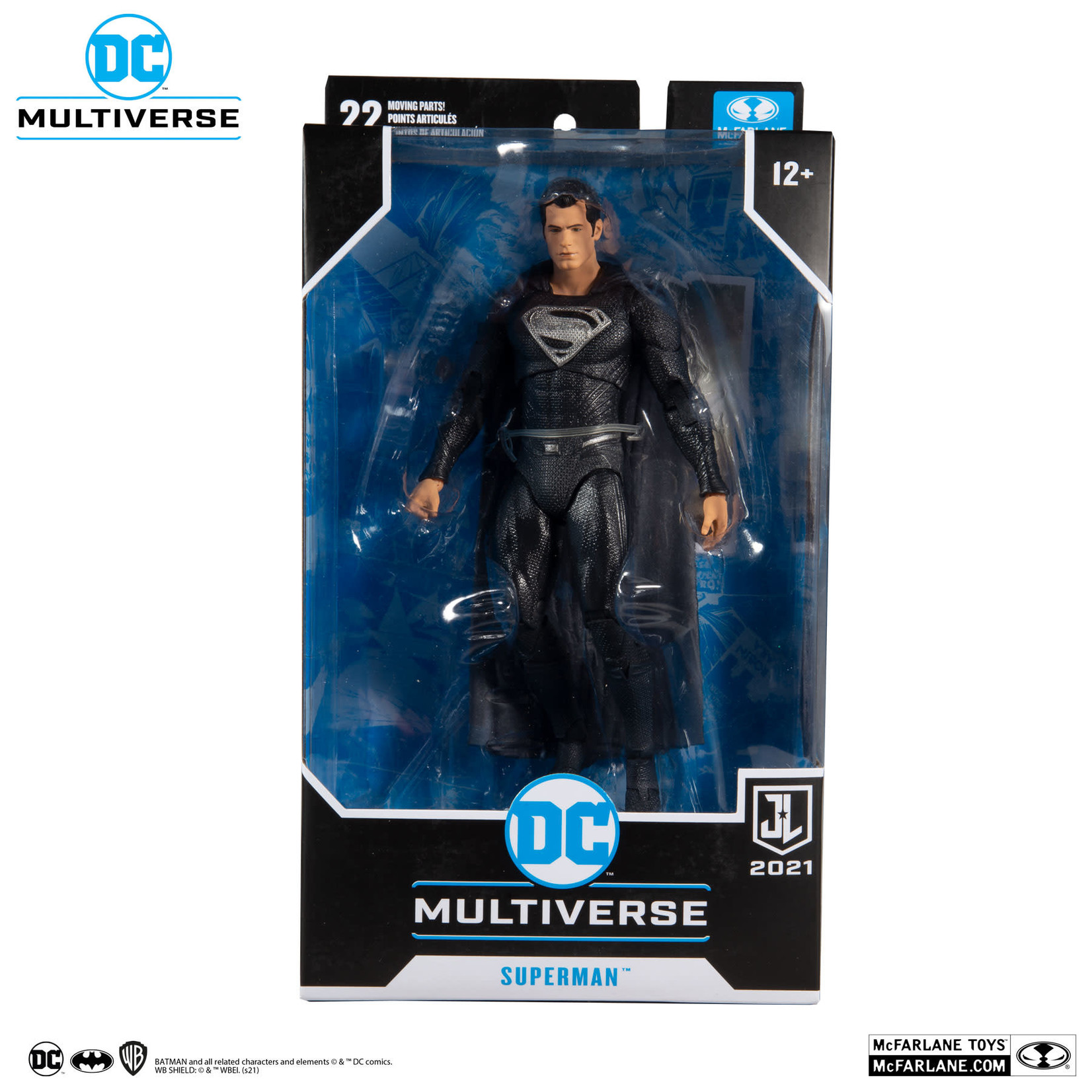 McFarlane Toys DC JUSTICE LEAGUE MOVIE - SUPERMAN