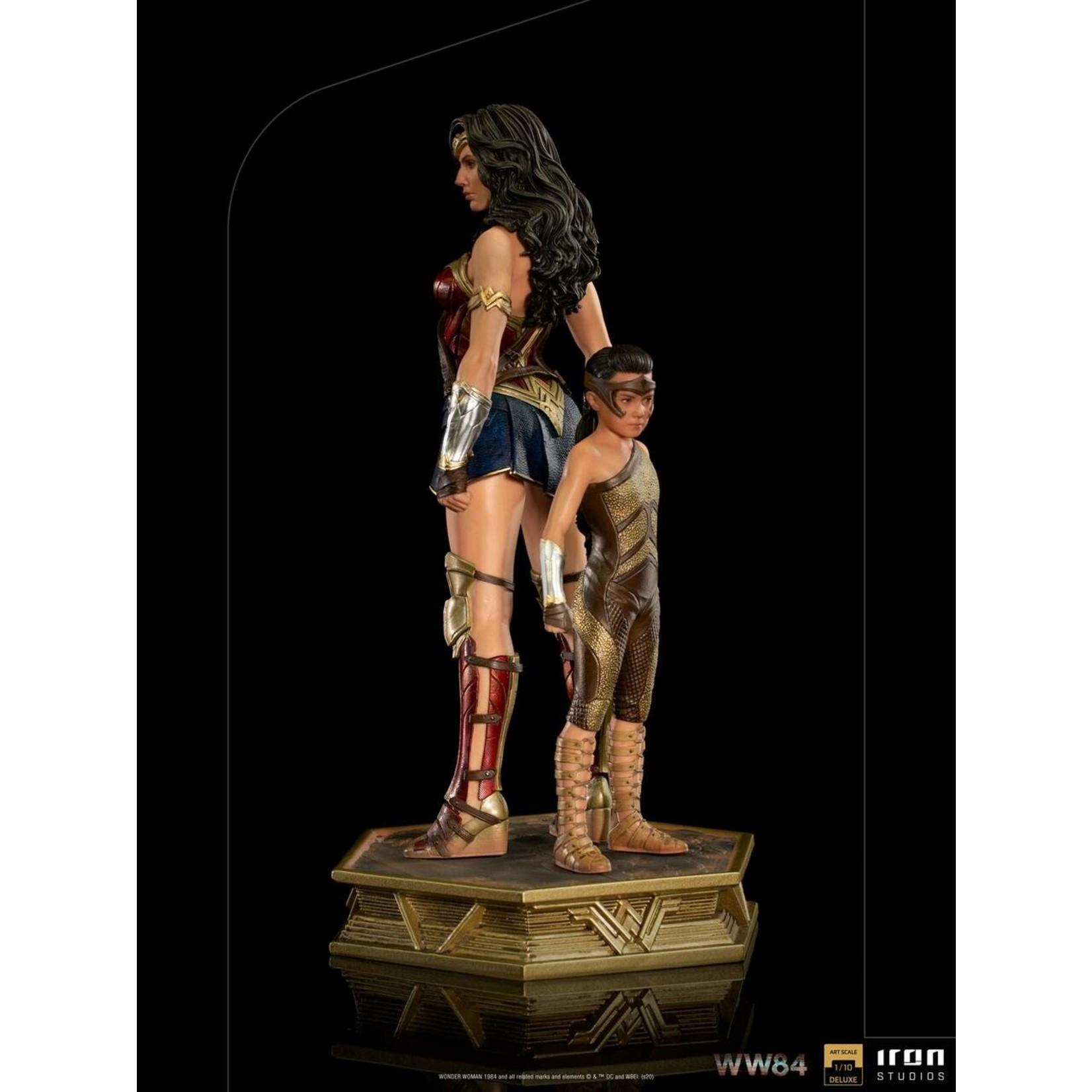 Iron Studios WW84 Wonder Woman & Young Diana Deluxe