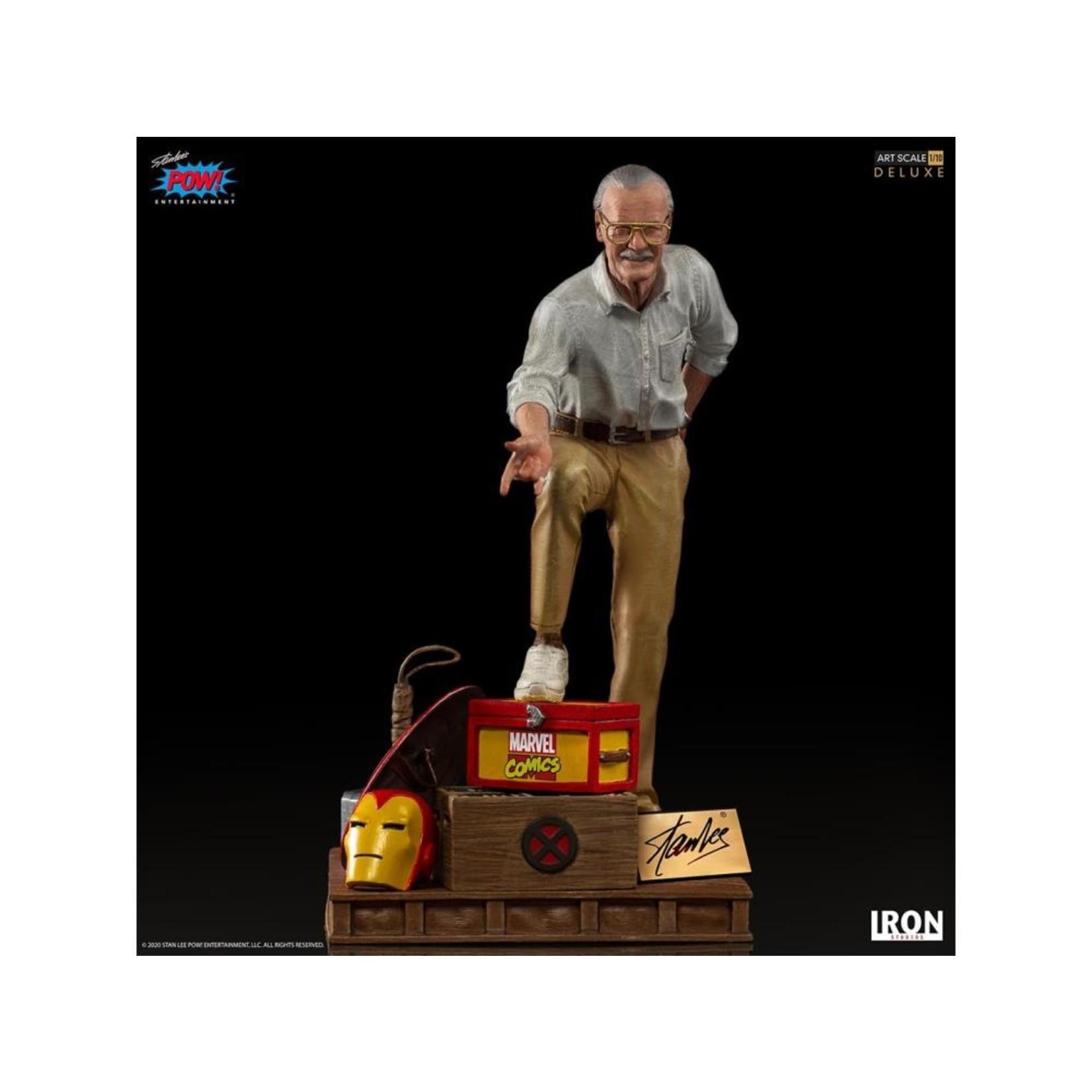 Iron Studios Stan Lee Deluxe Art Scale 1/10 statue