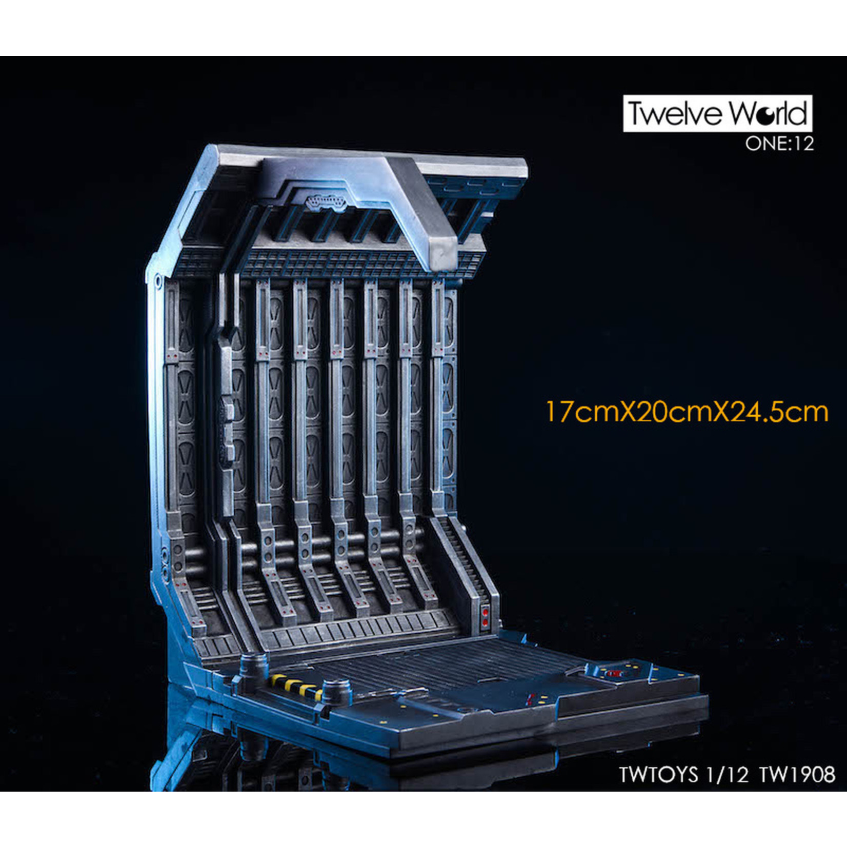 TW Toys EXPANSION SERIES GENNAKU 1/12 SCALE SCIFI PLATFORM