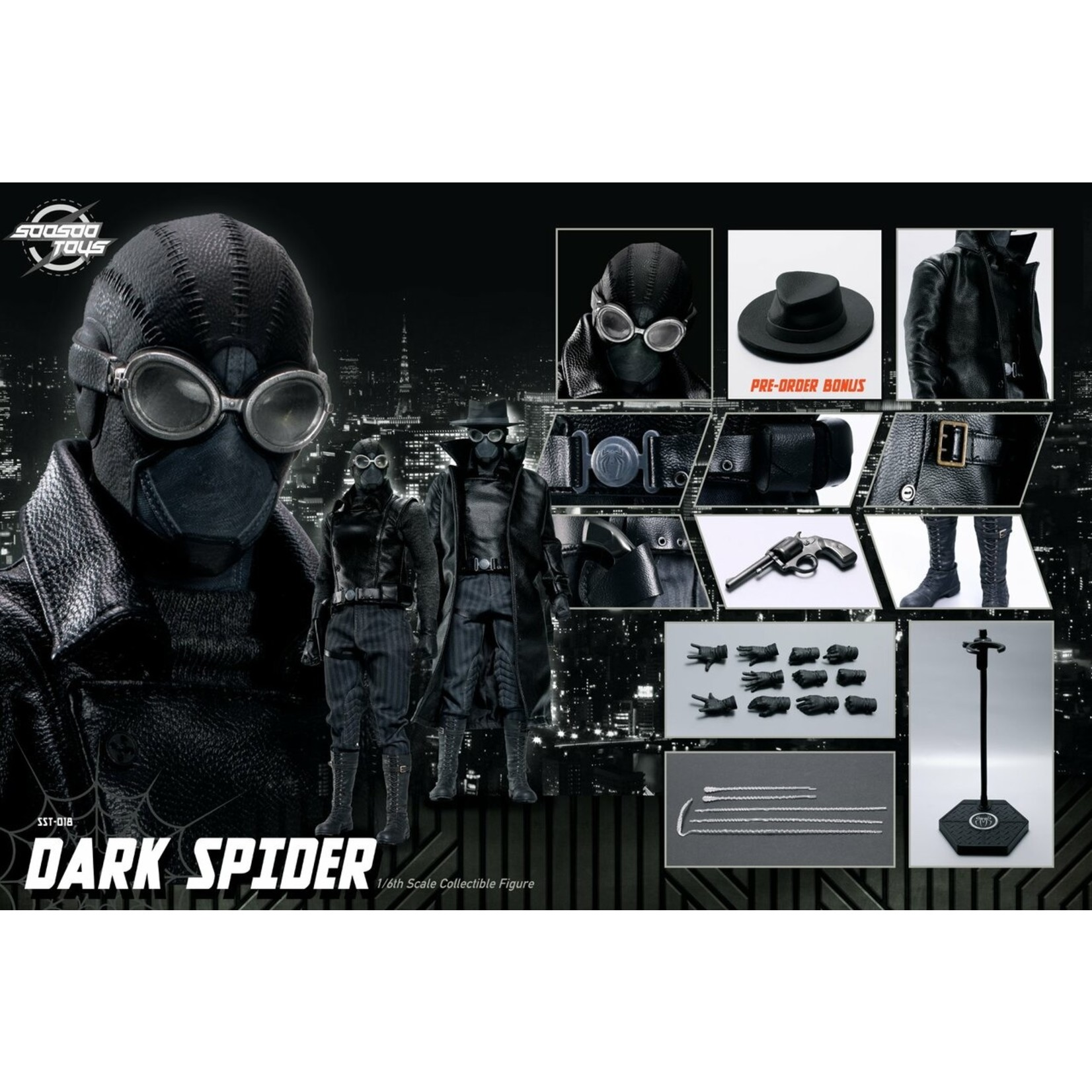 soosootoys Dark spider