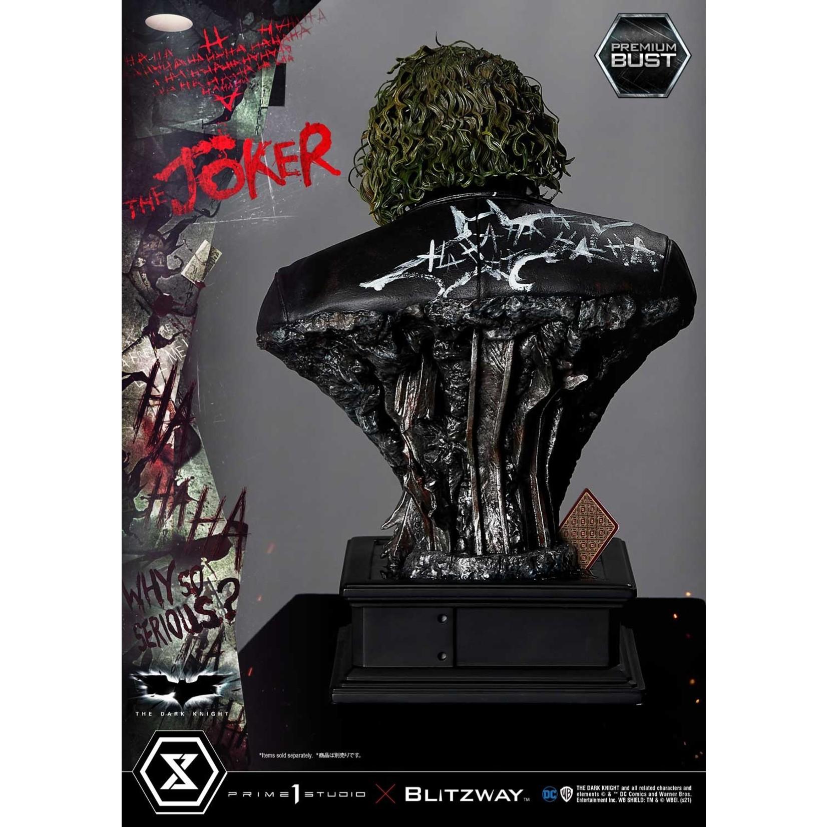 Prime 1 Studio [Preorder] Prime 1 X Blitzway - 1/3 scale THE JOKER BUST (THE DARK KNIGHT)