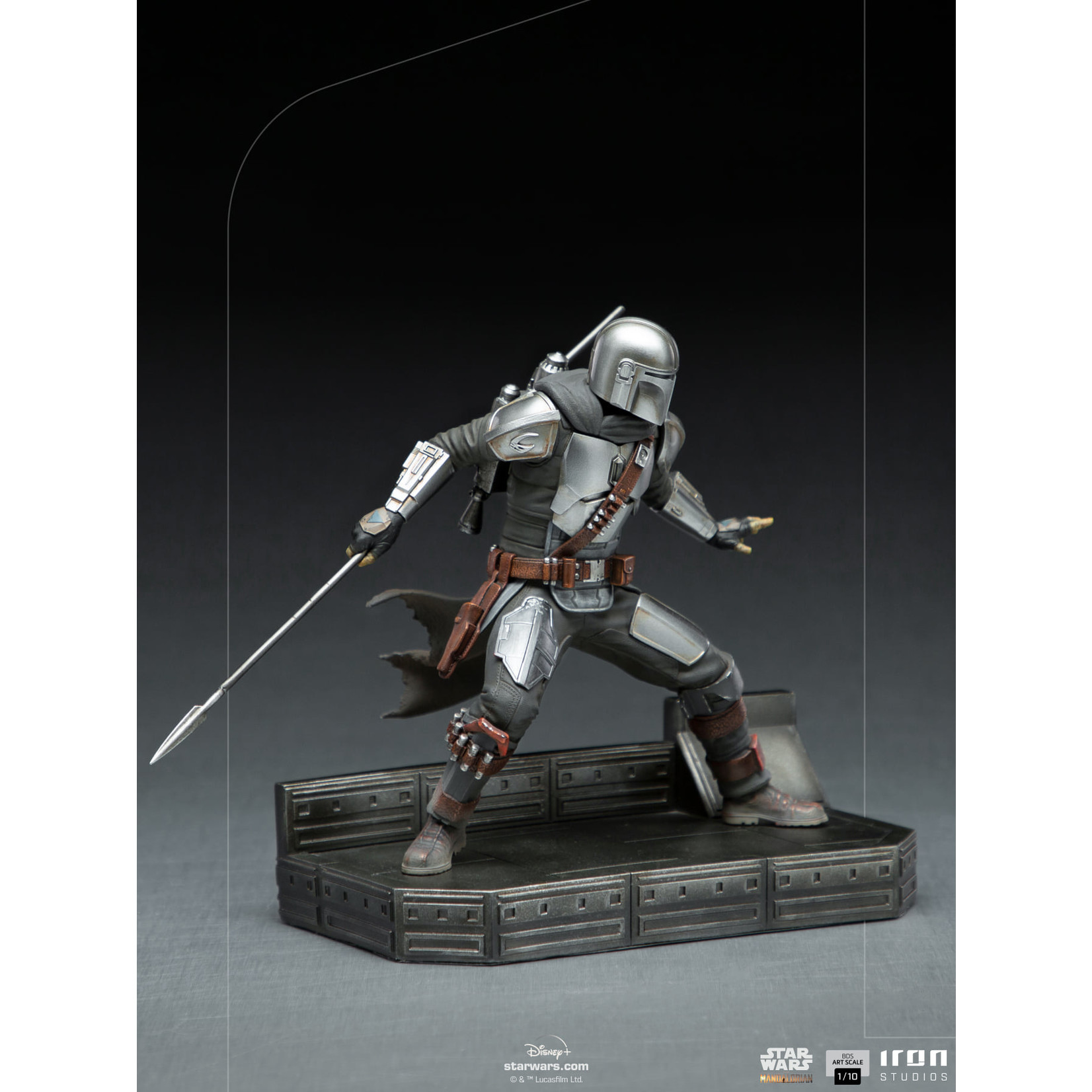 Iron Studios [Preorder] The Mandalorian Battle Diorama Series The Mandalorian 1/10 Art Scale Limited Edition Statue