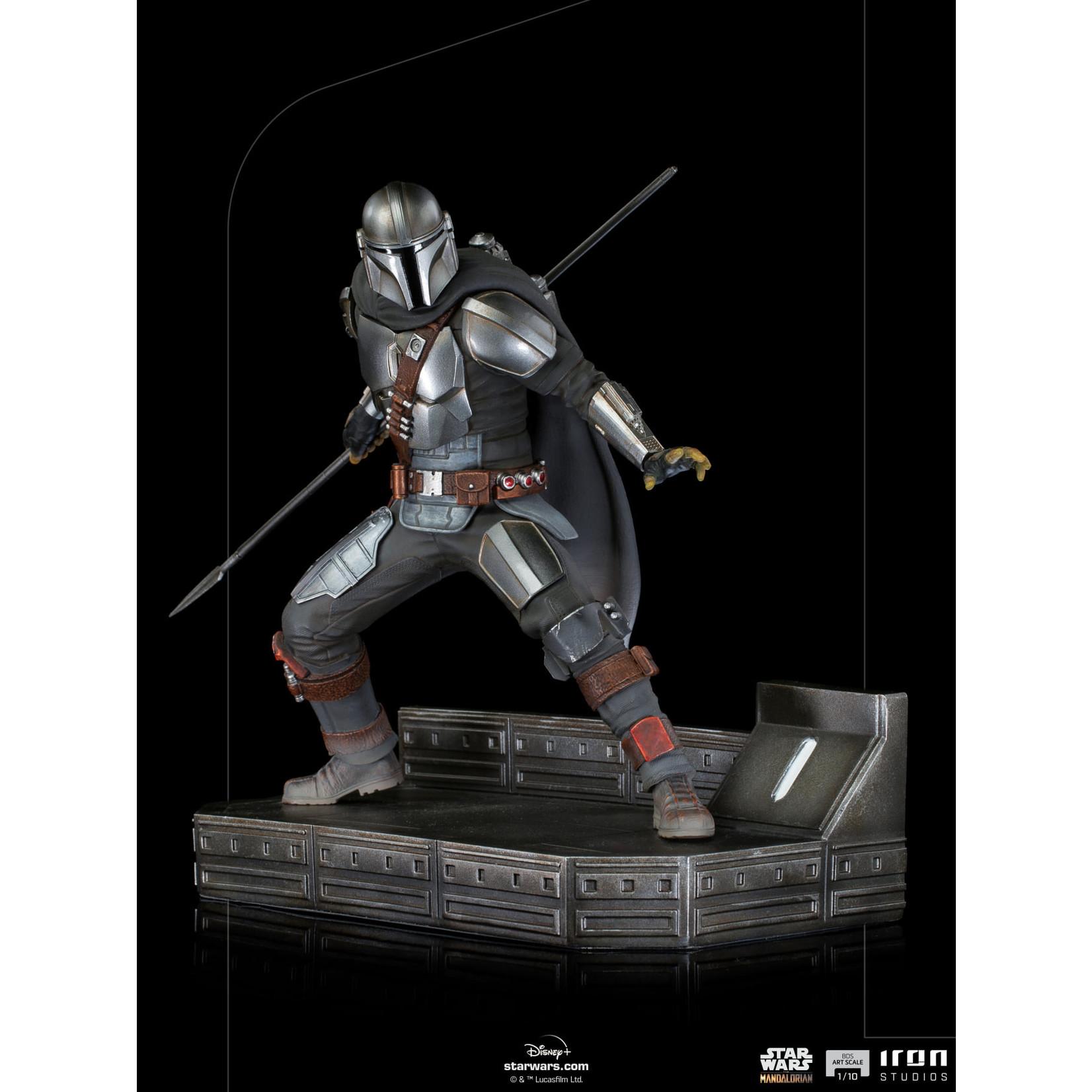 Iron Studios [Precommande] The Mandalorian Battle Diorama Series The Mandalorian 1/10 Art Scale Limited Edition Statue