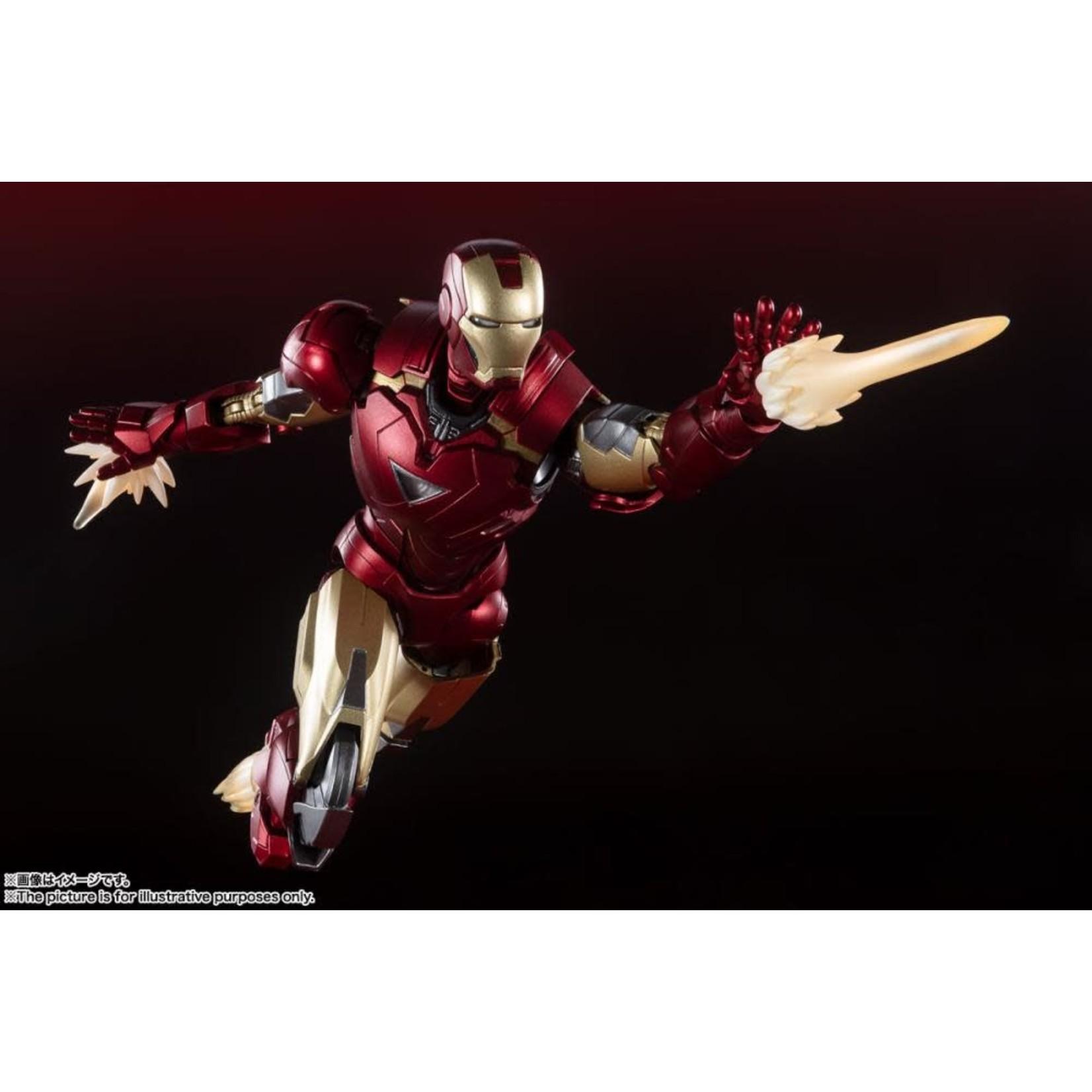 Bandai The Avengers S.H.Figuarts Iron Man Mark 6 (Battle Of New York Edition)