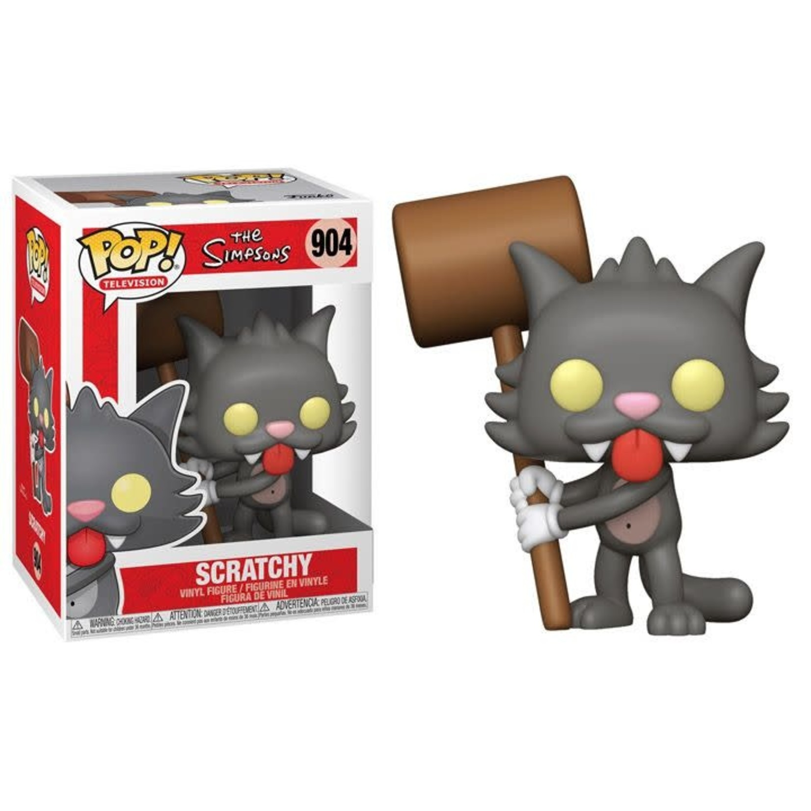 Funko POP! ANIMATION: THE SIMPSONS - SCRATCHY