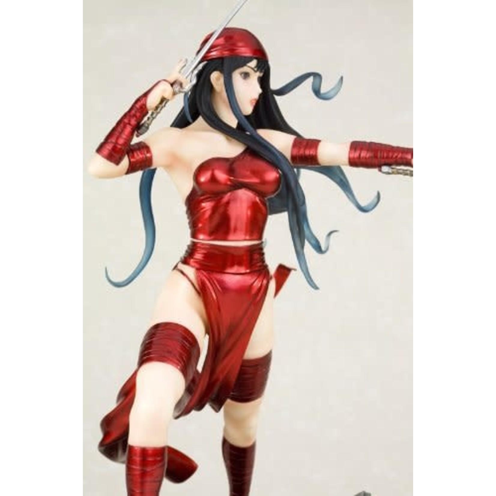 Kotobukiya Daredevil - Elektra - Bishoujo Statue - Marvel x Bishoujo