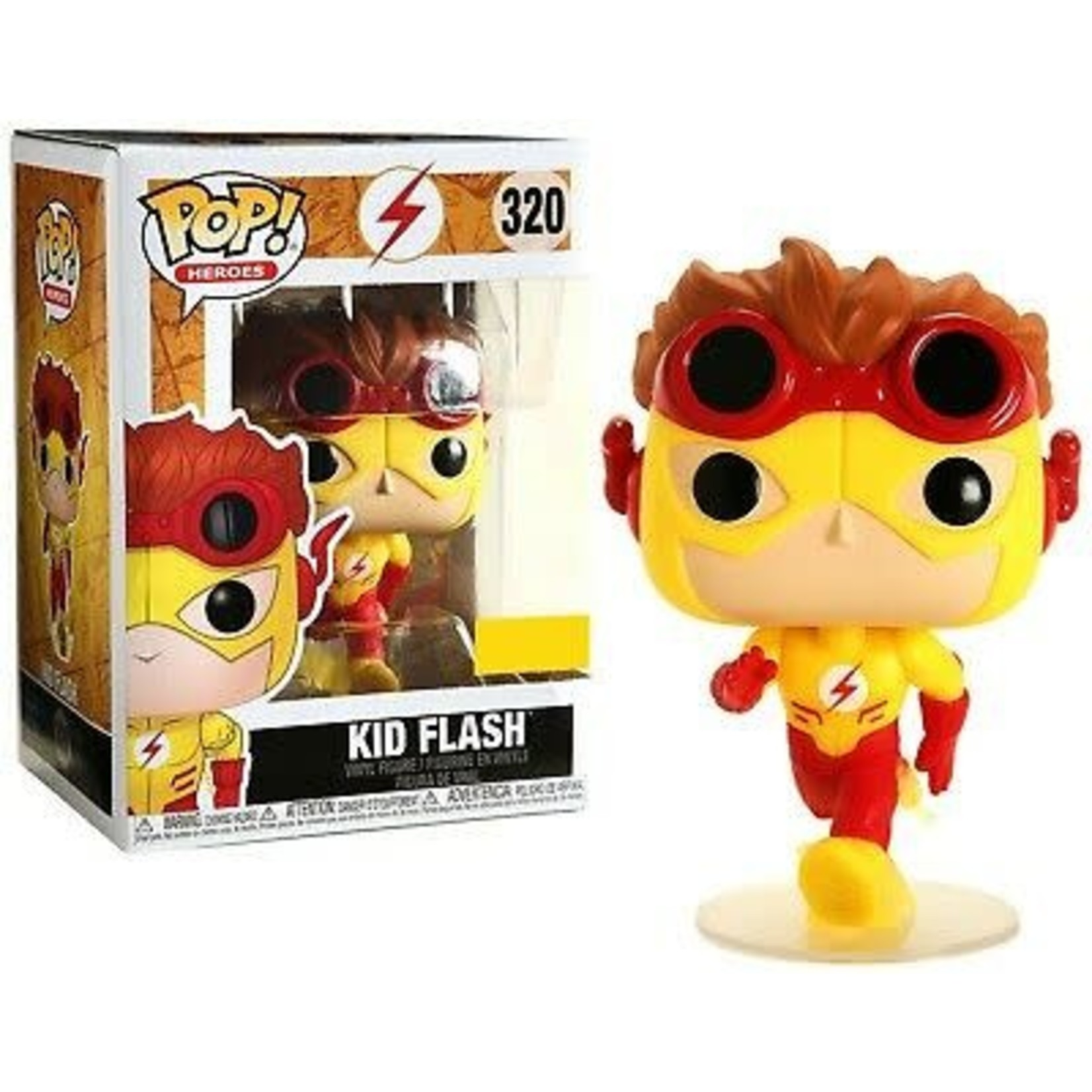 Funko Pop ! heroes - DC Comics - Kid Flash - Hot Topic Exclusive