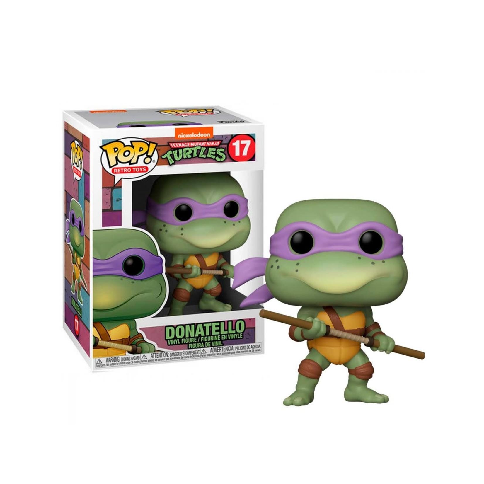 Funko Pop ! Retro Toys - TMNT Donatello