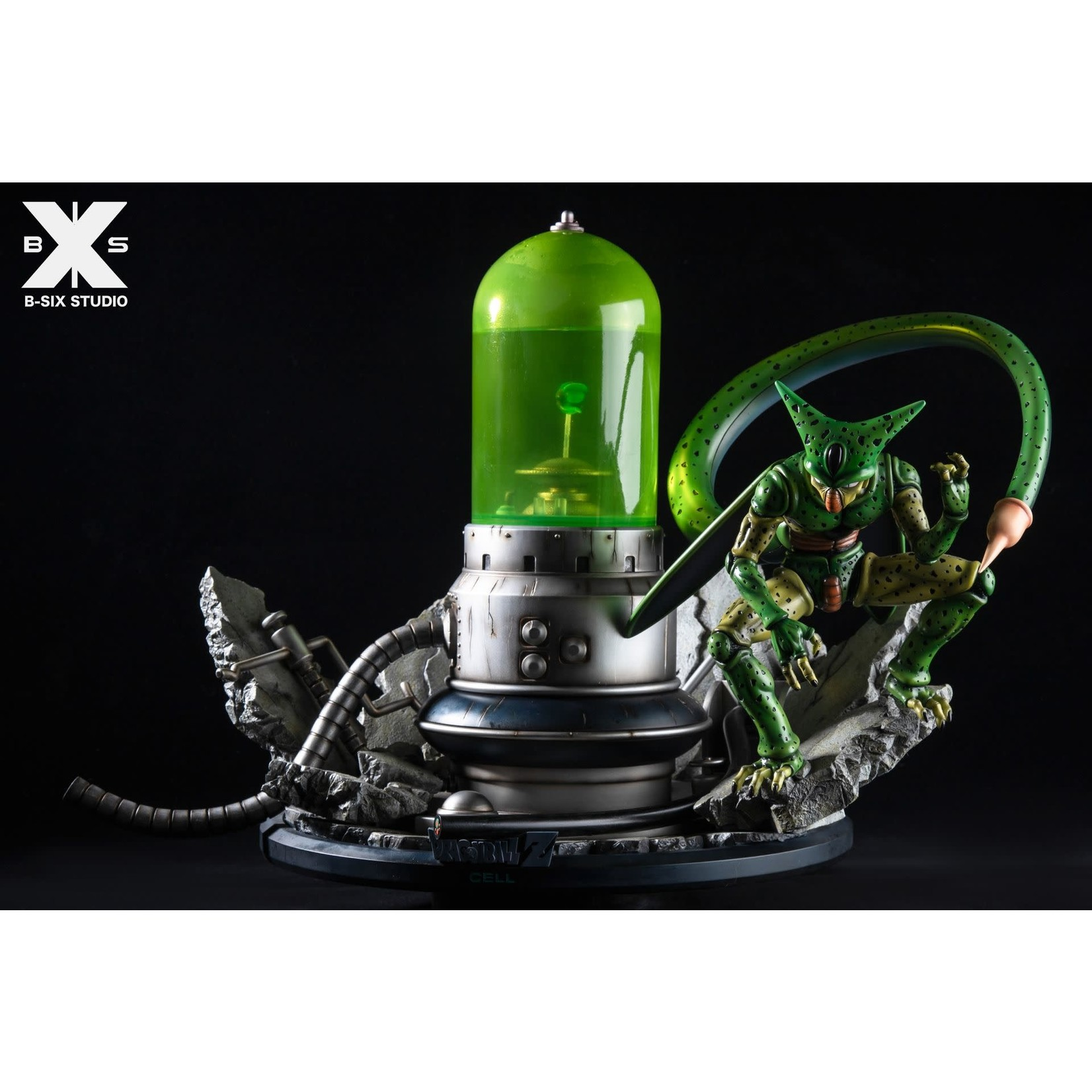 B-Six studio dragonball resin Cell Laboratory