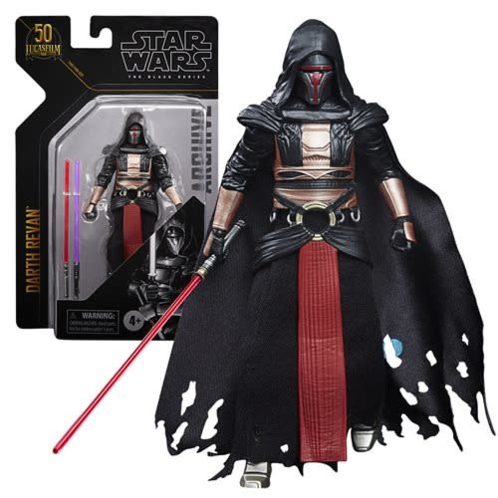 Hasbro [Precommande] Star Wars The Black Series Archive Darth Revan