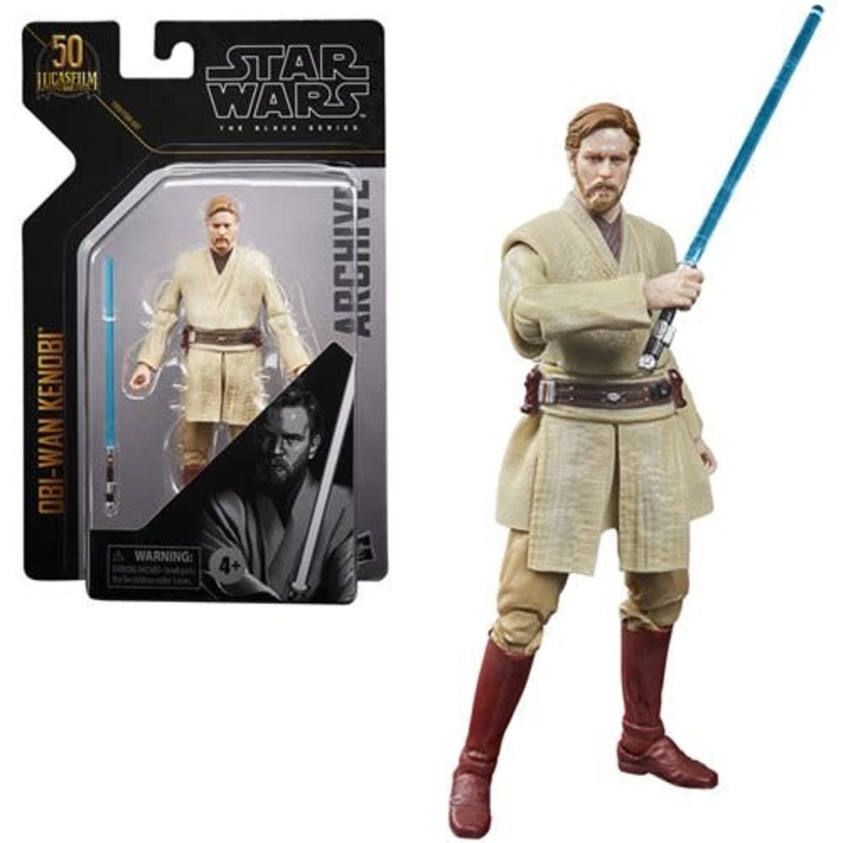 Hasbro [Precommande] Star Wars The Black Series Archive Obi-Wan Kenobi (Revenge of the Sith)