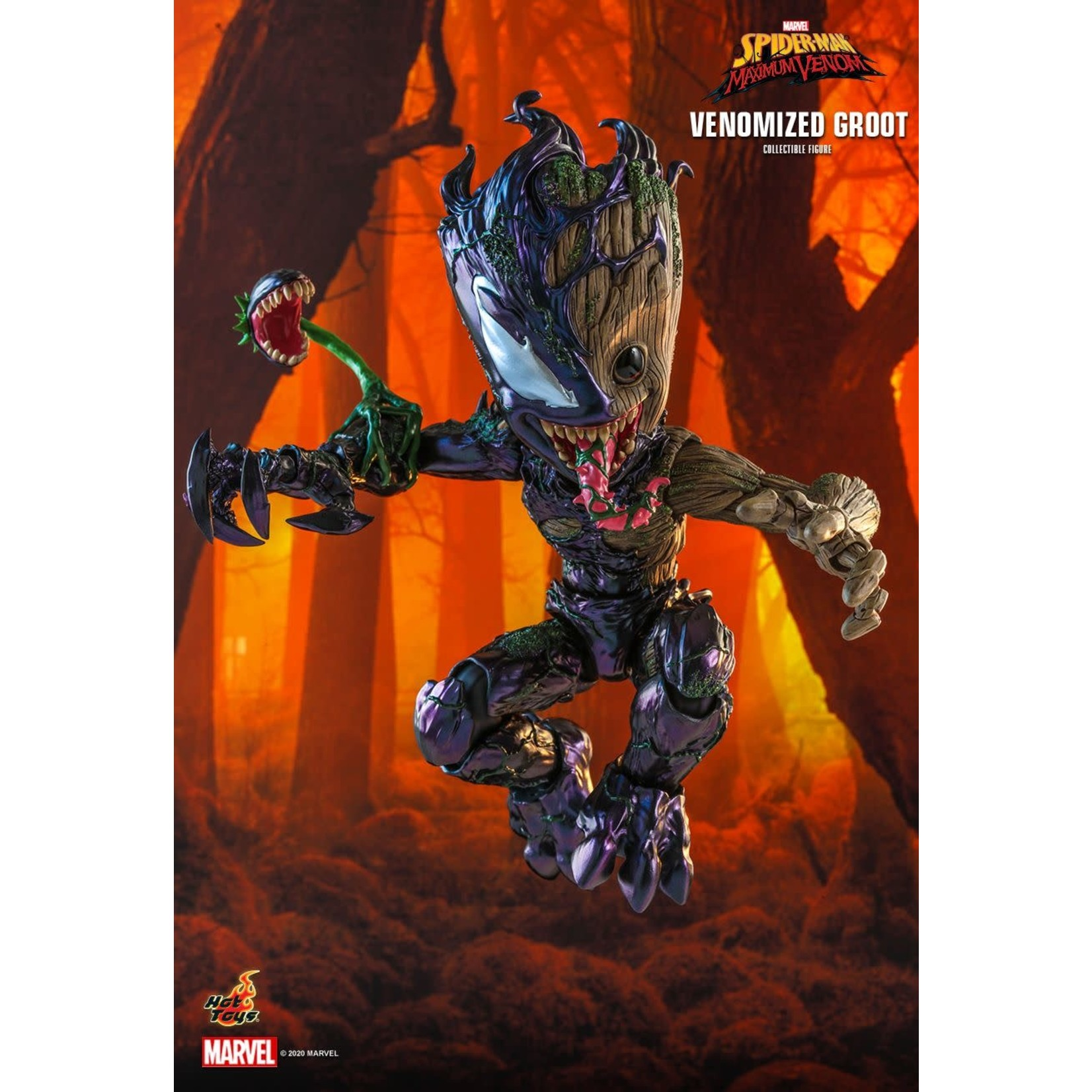 Hot Toys Hot Toys TMS027 Venomized Groot