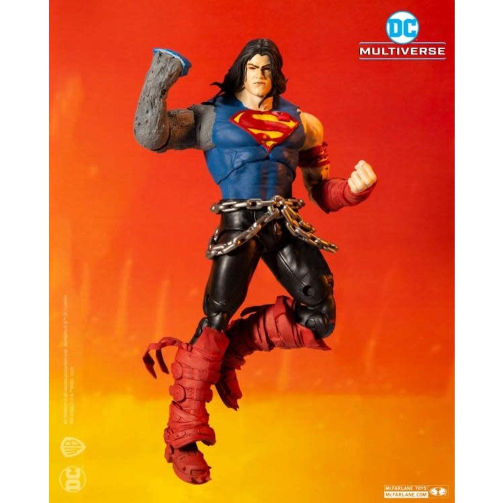 McFarlane Toys Dark Nights: Death Metal DC Multiverse Superman Action Figure (Collect to Build: Dark Father)