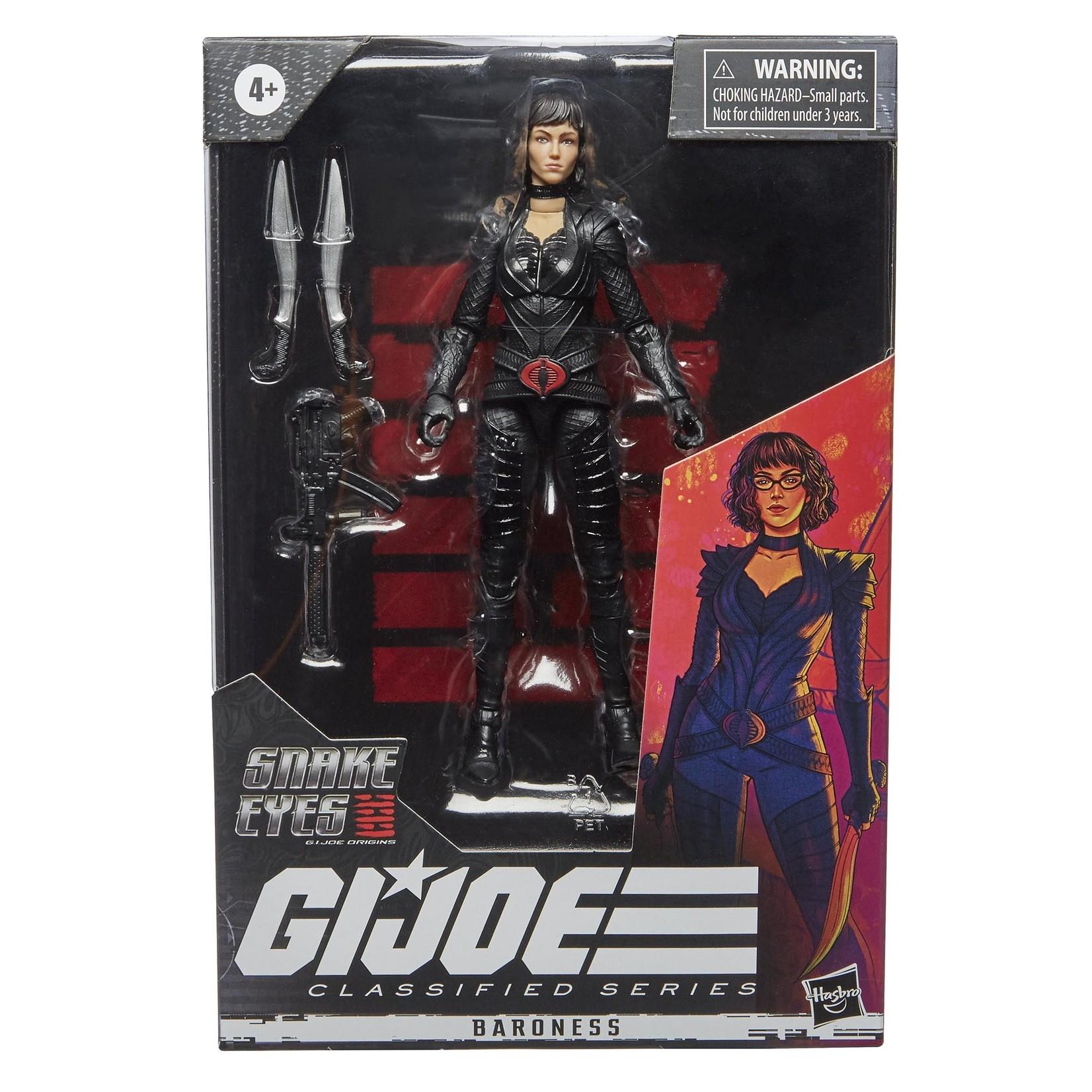 Hasbro G.I. Joe Classified Series 6-Inch Snake Eyes: G.I. Joe Origins Baroness