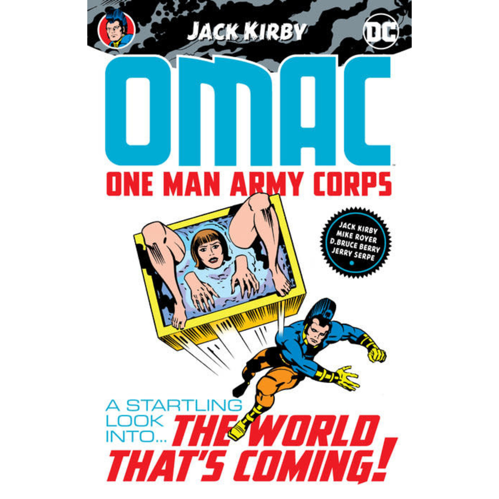DC Comics OMAC One Army Man Corps by Jack Kirby