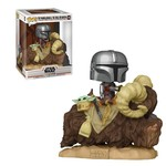 Funko Pop! Deluxe - Star Wars #416 - The Mandalorian & The Child On Bantha
