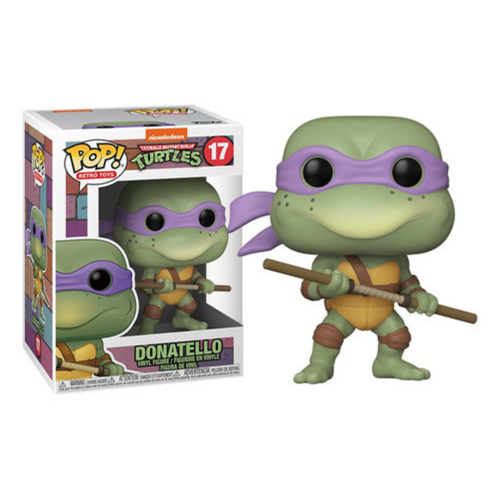 Funko Pop! Retro Toys: Teenage Mutant Ninja Turtles #17 - Donatello