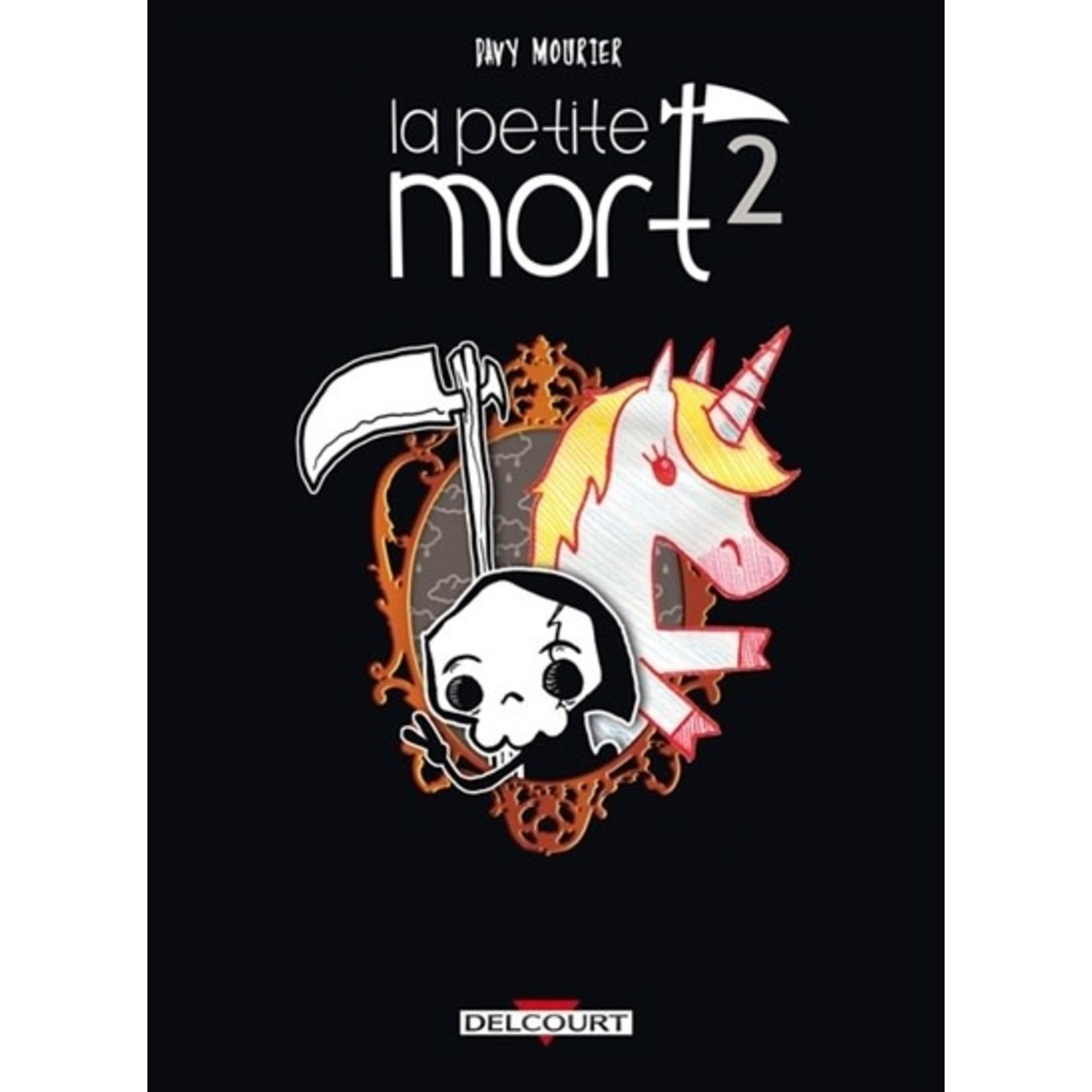 0-Delcourt La petite mort T.2 : Le secret de la licorne-sirène