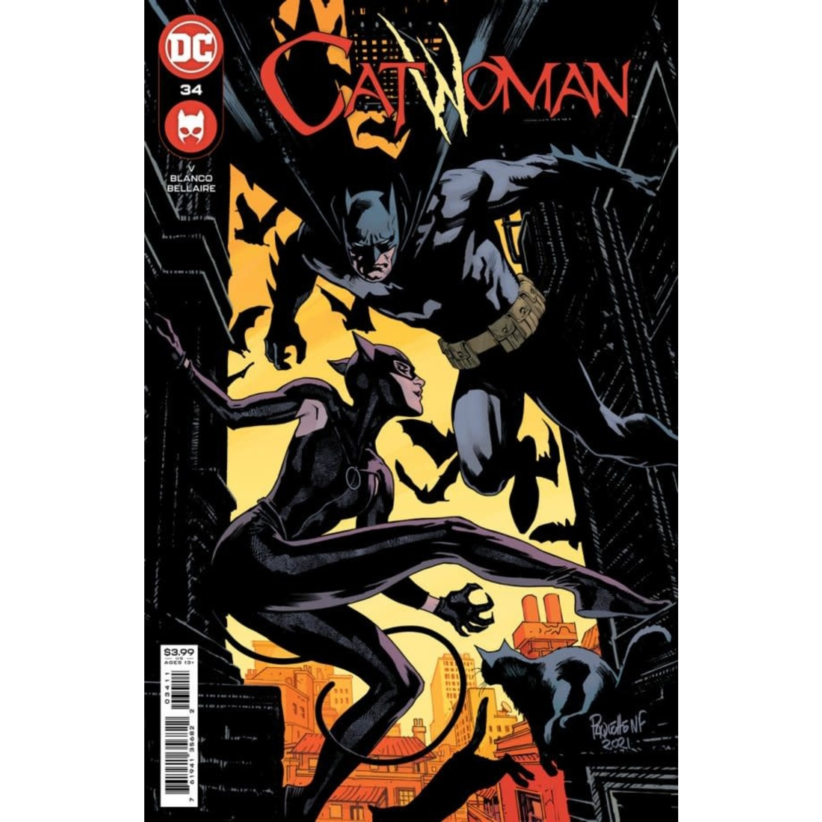 DC Comics Catwoman #34