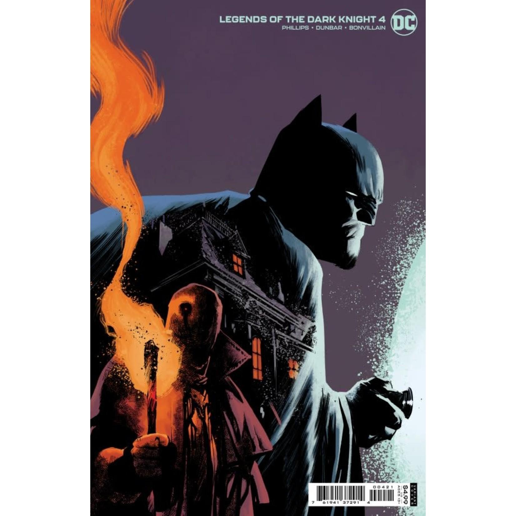 DC Comics Legends of the Dark Knight #4 Cover B Albuquerque Card Stock Variant