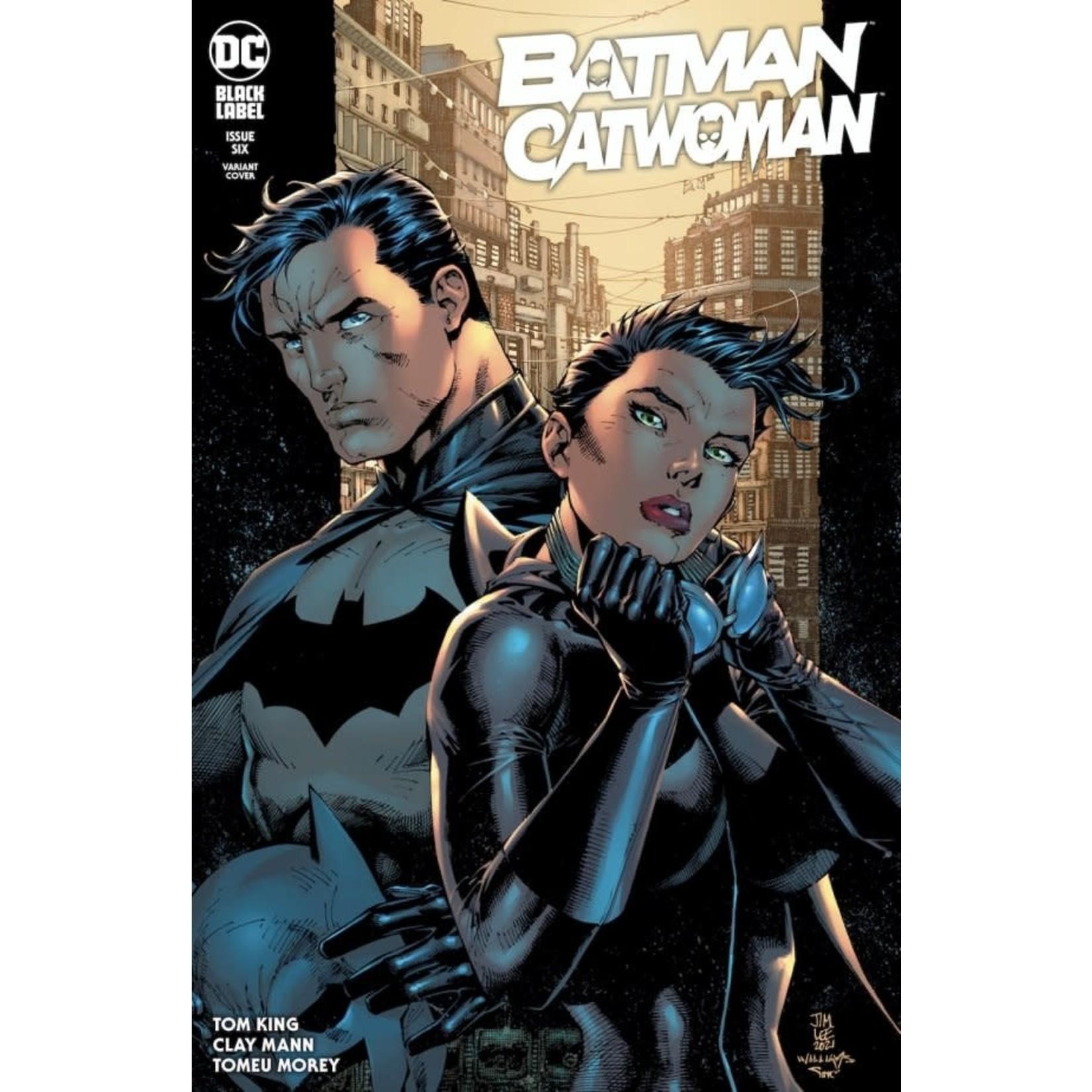 DC Comics Batman / Catwoman #6 Jim Lee And Scott Williams Variant Cover