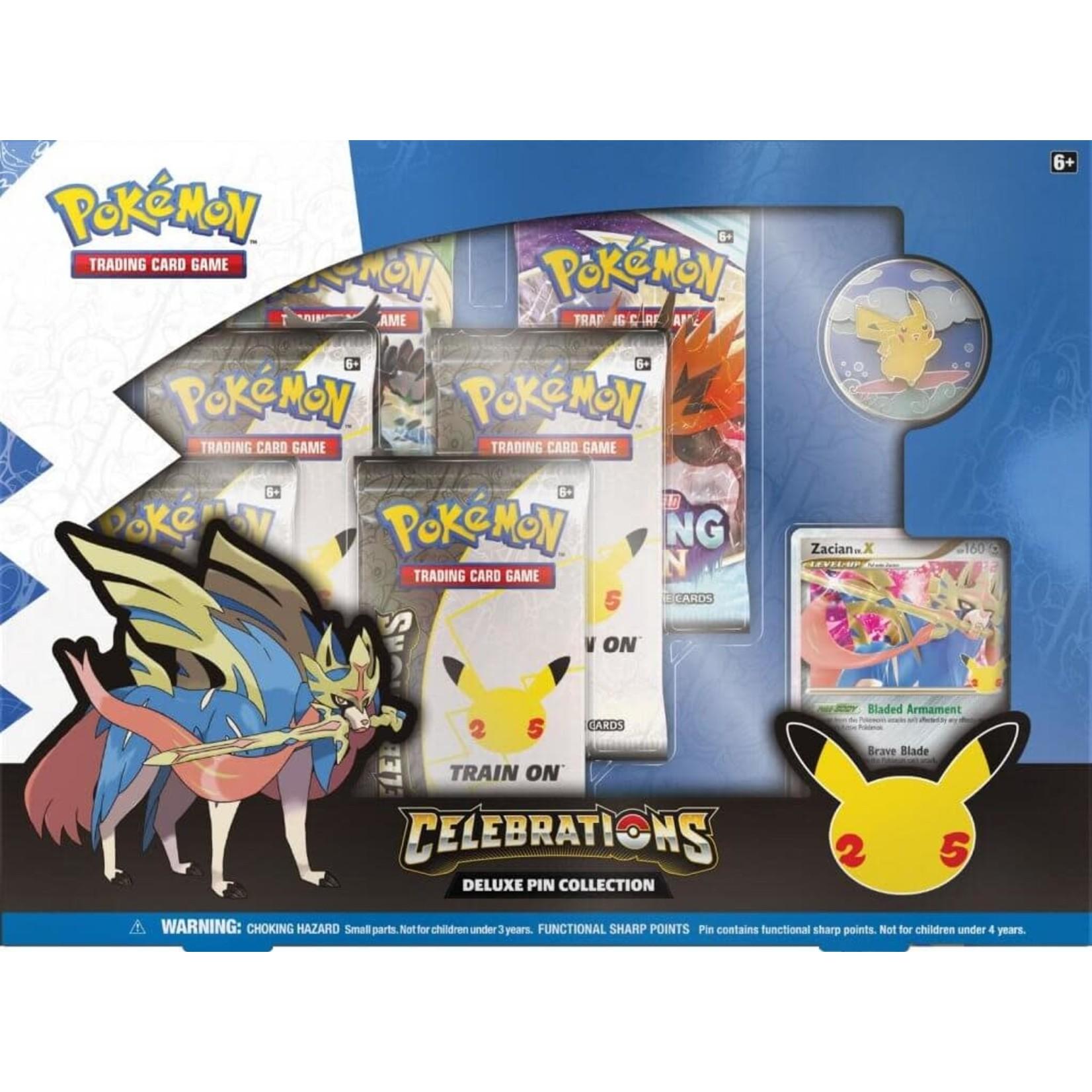 The Pokemon Company [Preorder] POKEMON CELEBRATIONS DELUXE PIN COLLECTION