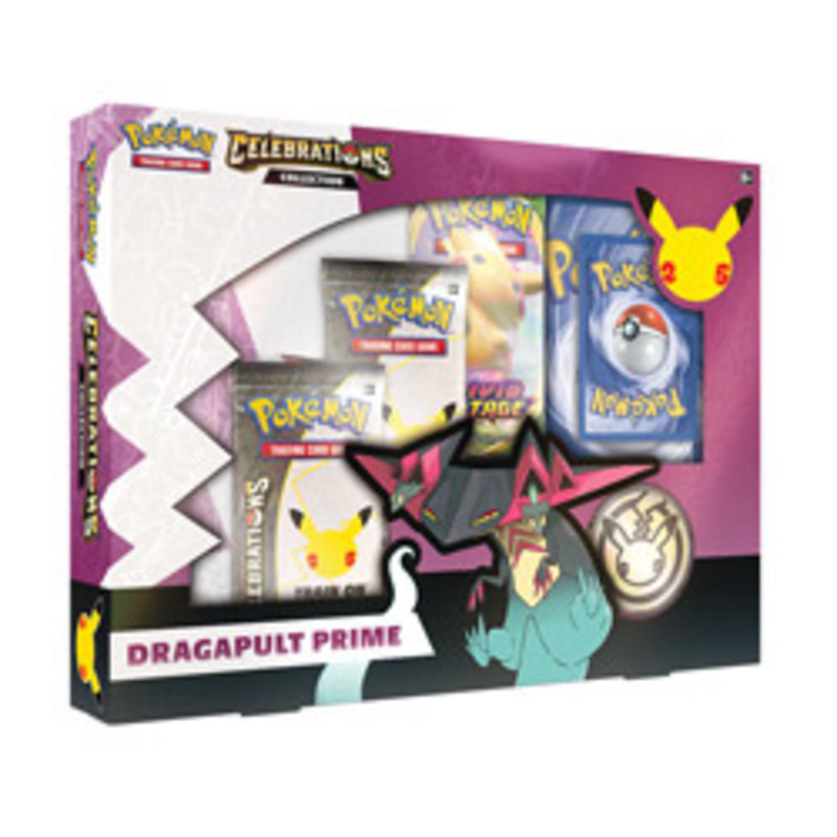 The Pokemon Company [Preorder] POKEMON CELEBRATIONS DRAGAPULT PRIME