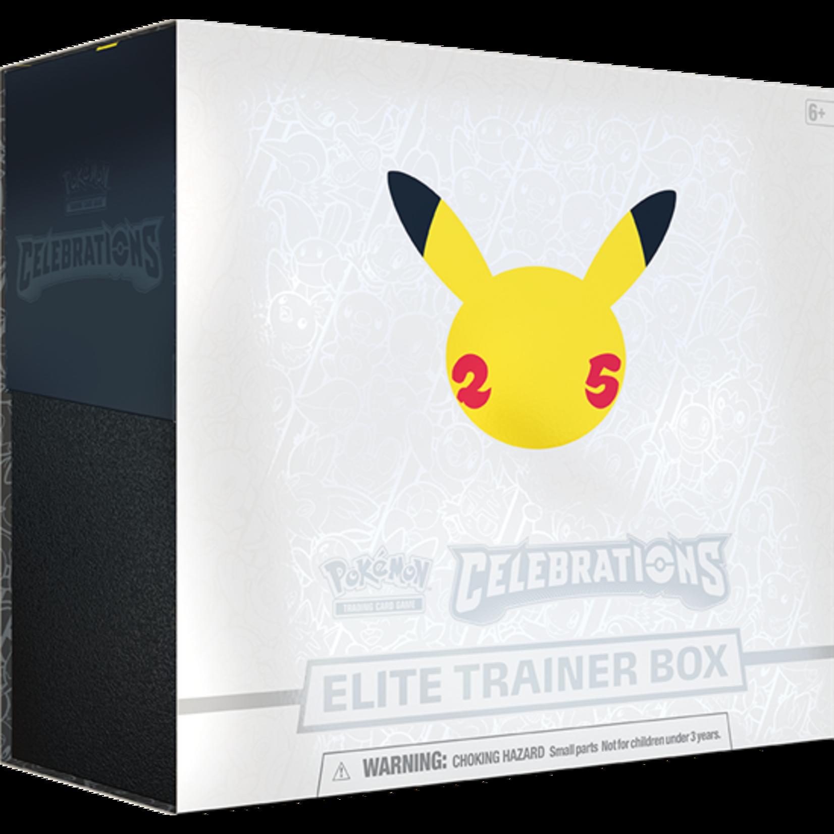 The Pokemon Company [Preorder] POKEMON CELEBRATIONS ELITE TRAINER BOX