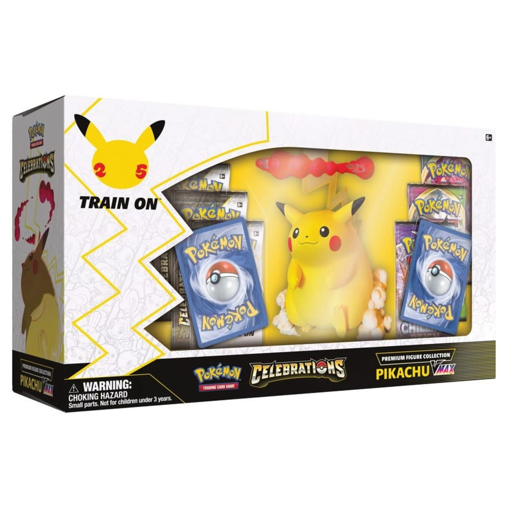 The Pokemon Company [Preorder] Pokémon TCG: Celebrations Premium Figure Collection—Pikachu VMAX