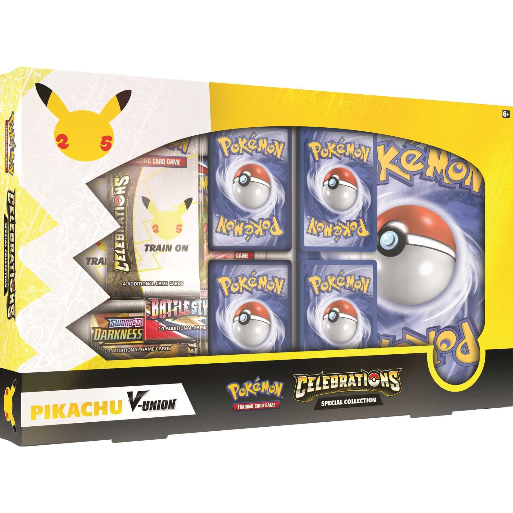 The Pokemon Company [Preorder] POKEMON CELEBRATIONS PIKACHU V-UNION