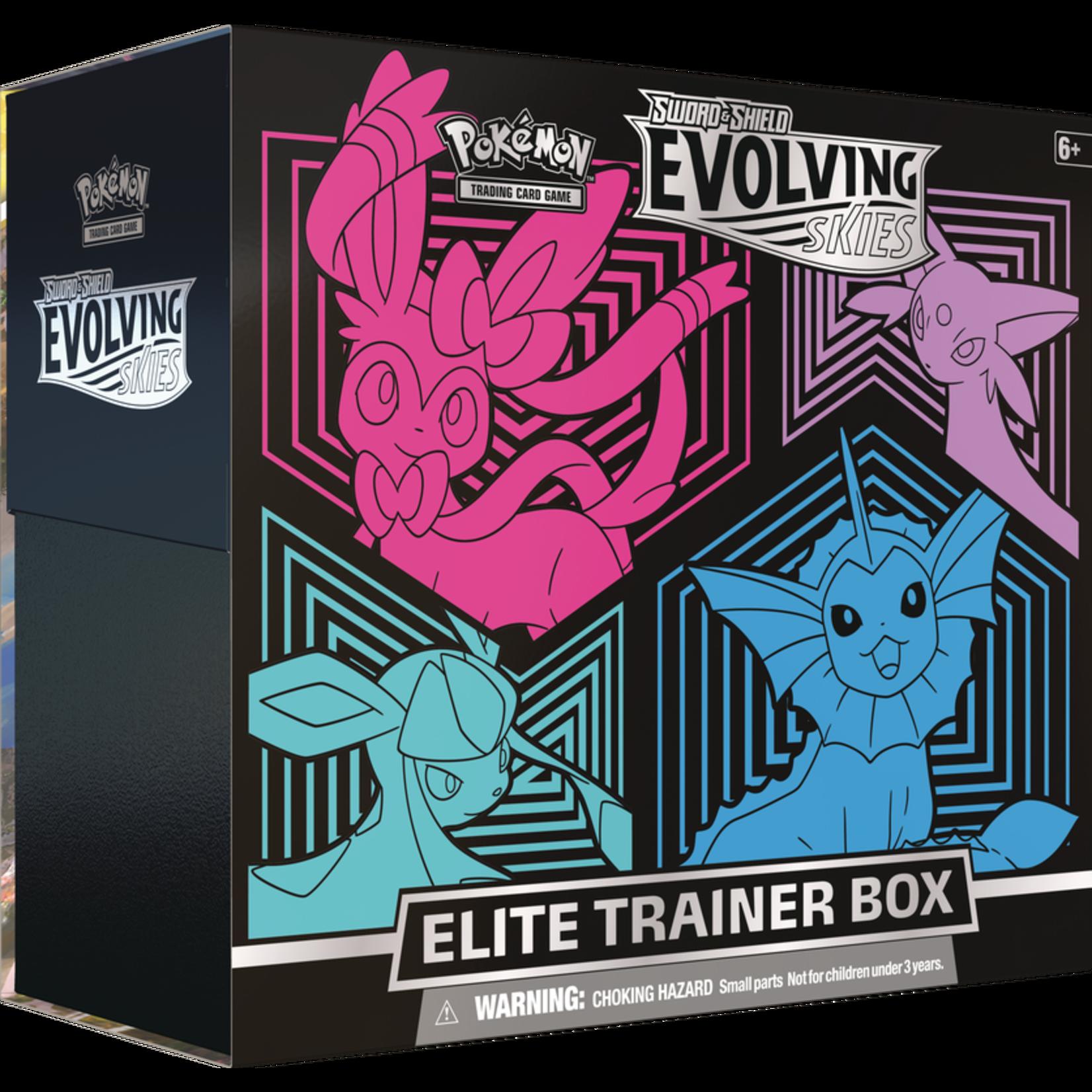 The Pokemon Company [Preorder] EVOLVING SKIES ELITE TRAINER BOX