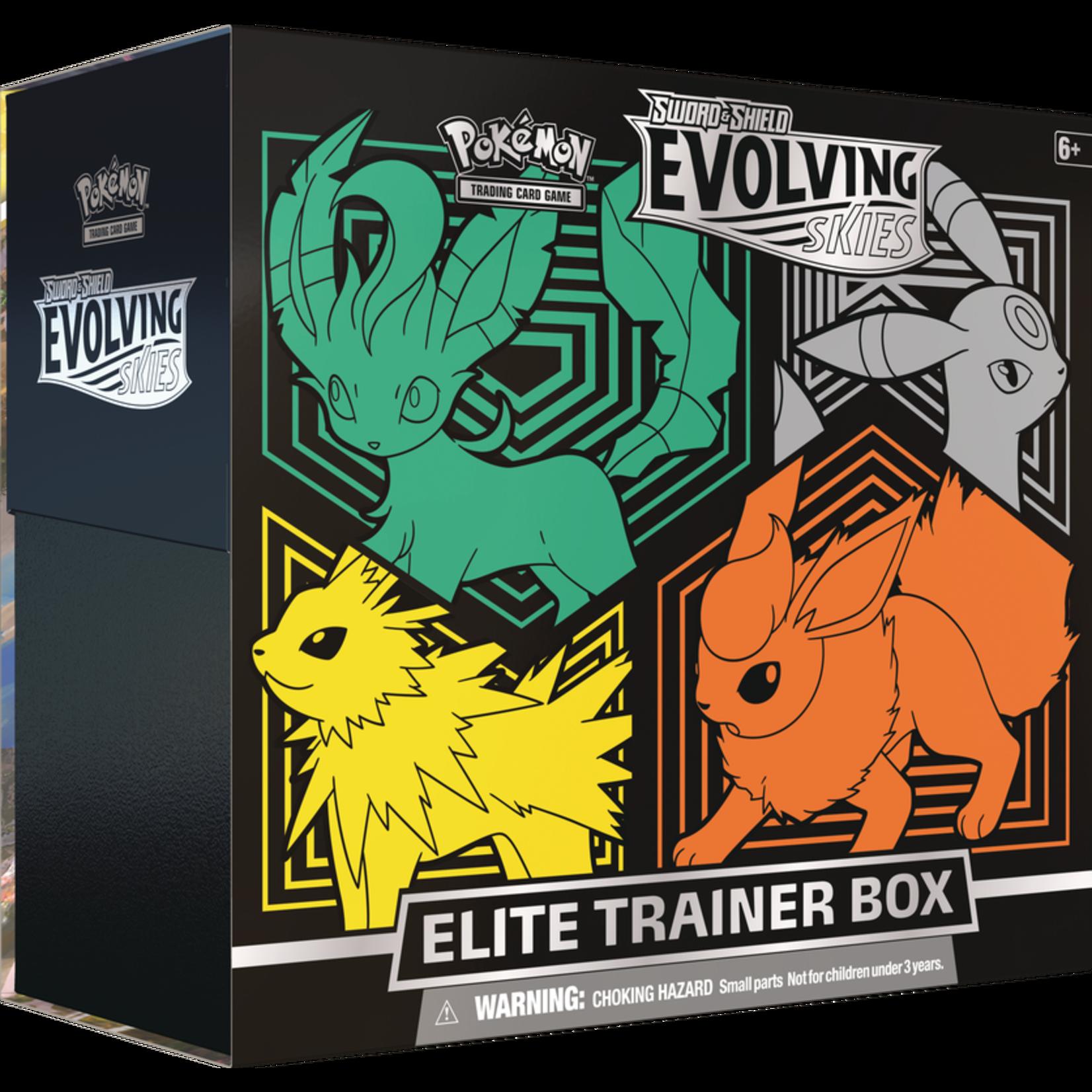The Pokemon Company [Precommande] EVOLVING SKIES ELITE TRAINER BOX