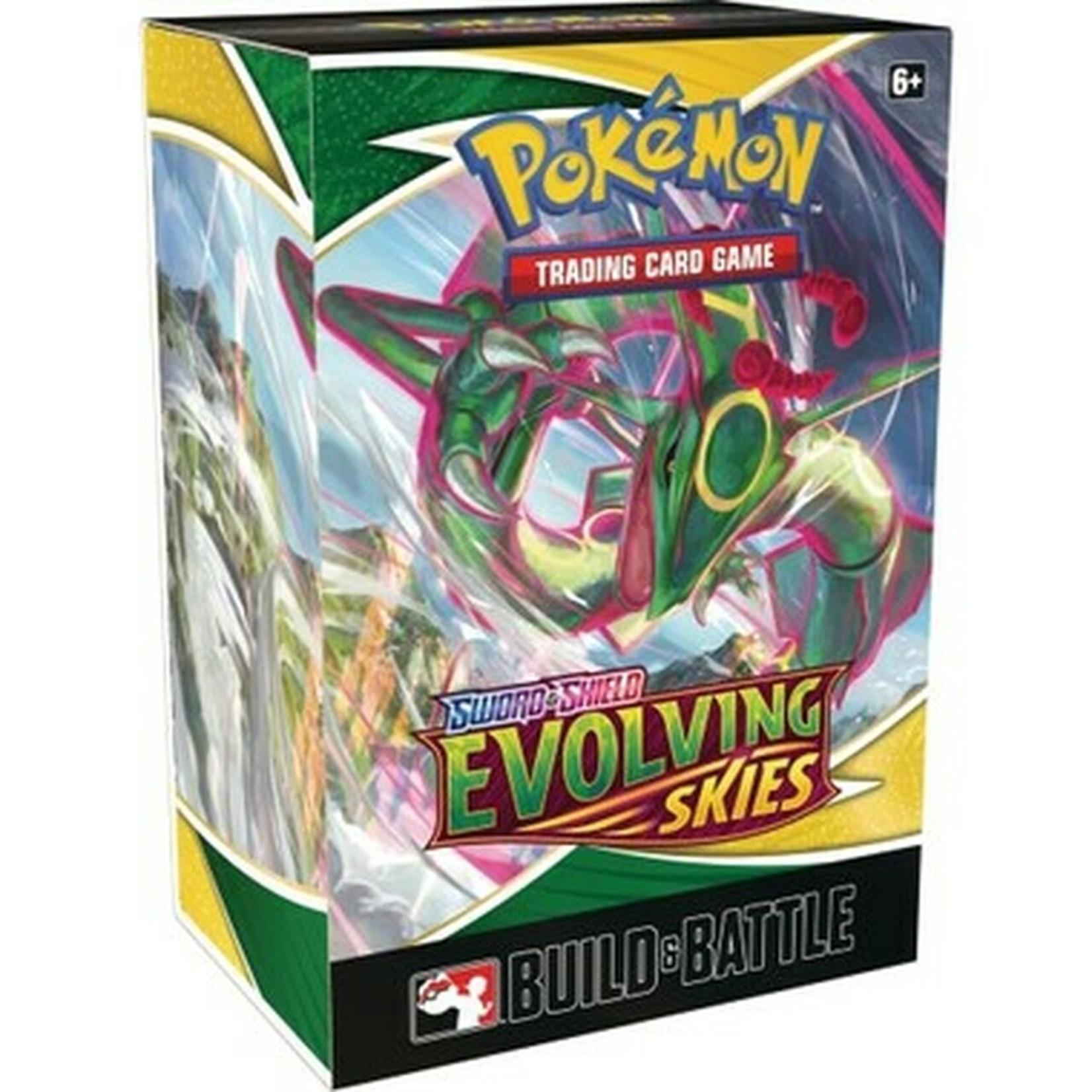 The Pokemon Company [Precommande] EVOLVING SKIES BUILD & BATTLE BOX