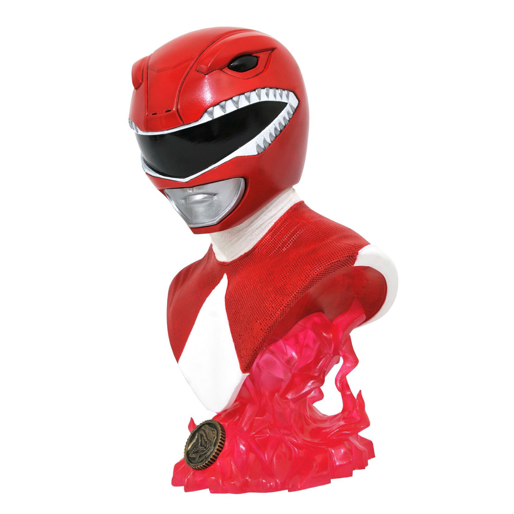 Diamond Select [Preorder] Legends in 3D TV: Power Rangers Red Ranger 1/2 Scale Bust