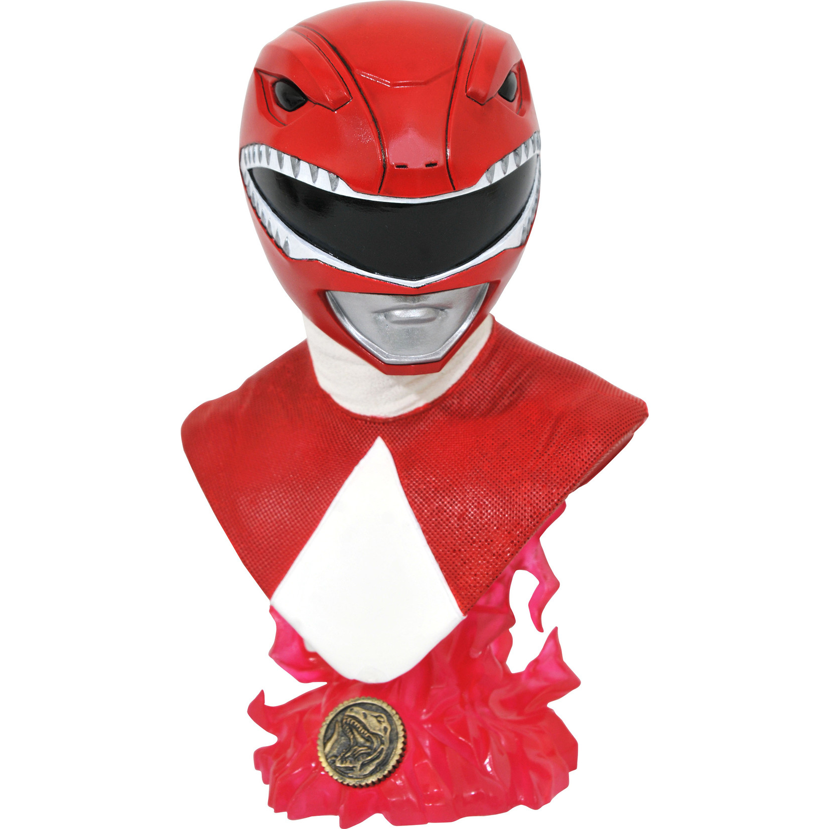 Diamond Select [Precommande] Legends in 3D TV: Power Rangers Red Ranger 1/2 Scale Bust