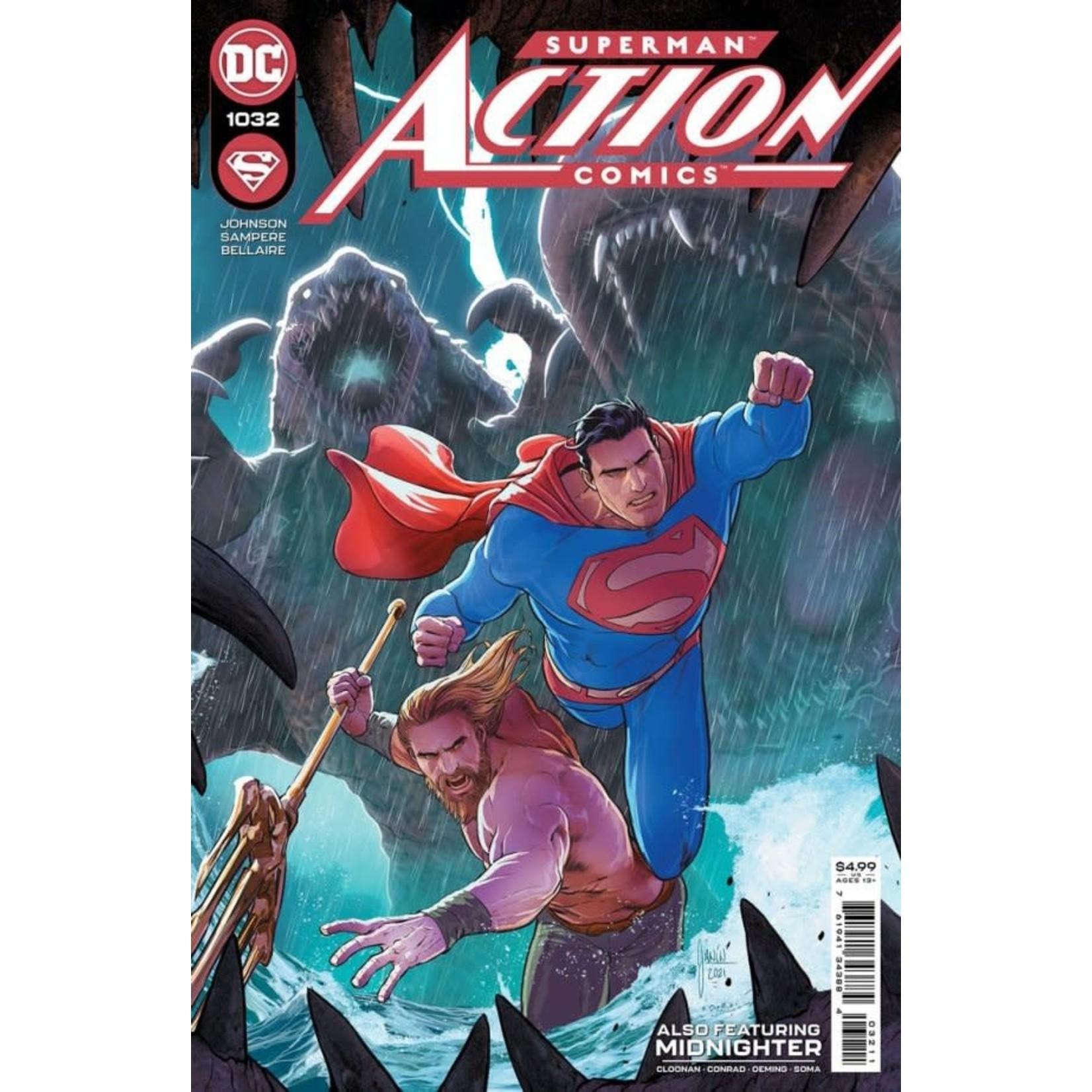 DC Comics action comics #1032